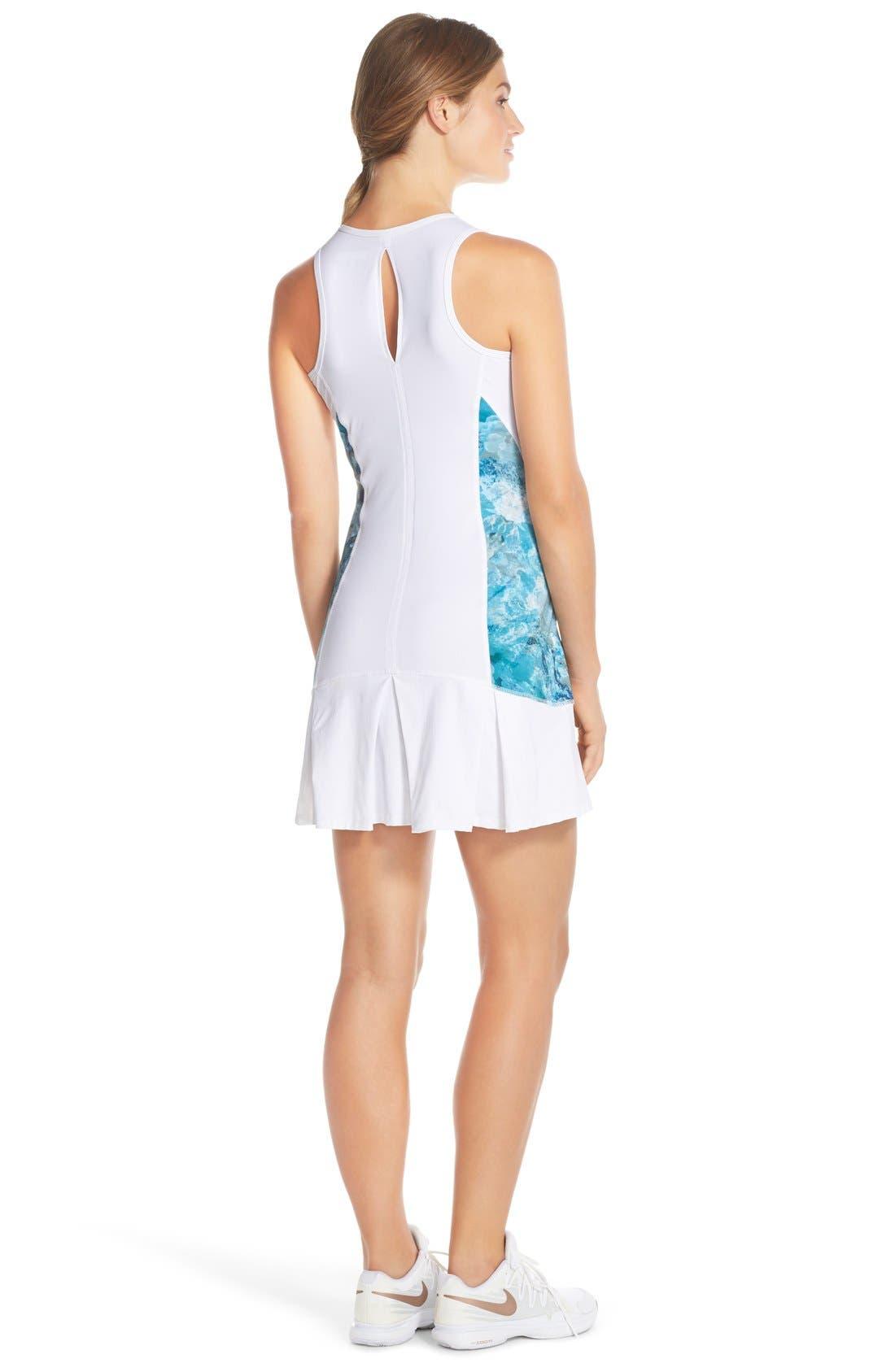 'Full Court' Tennis Dress,                             Alternate thumbnail 3, color,                             100
