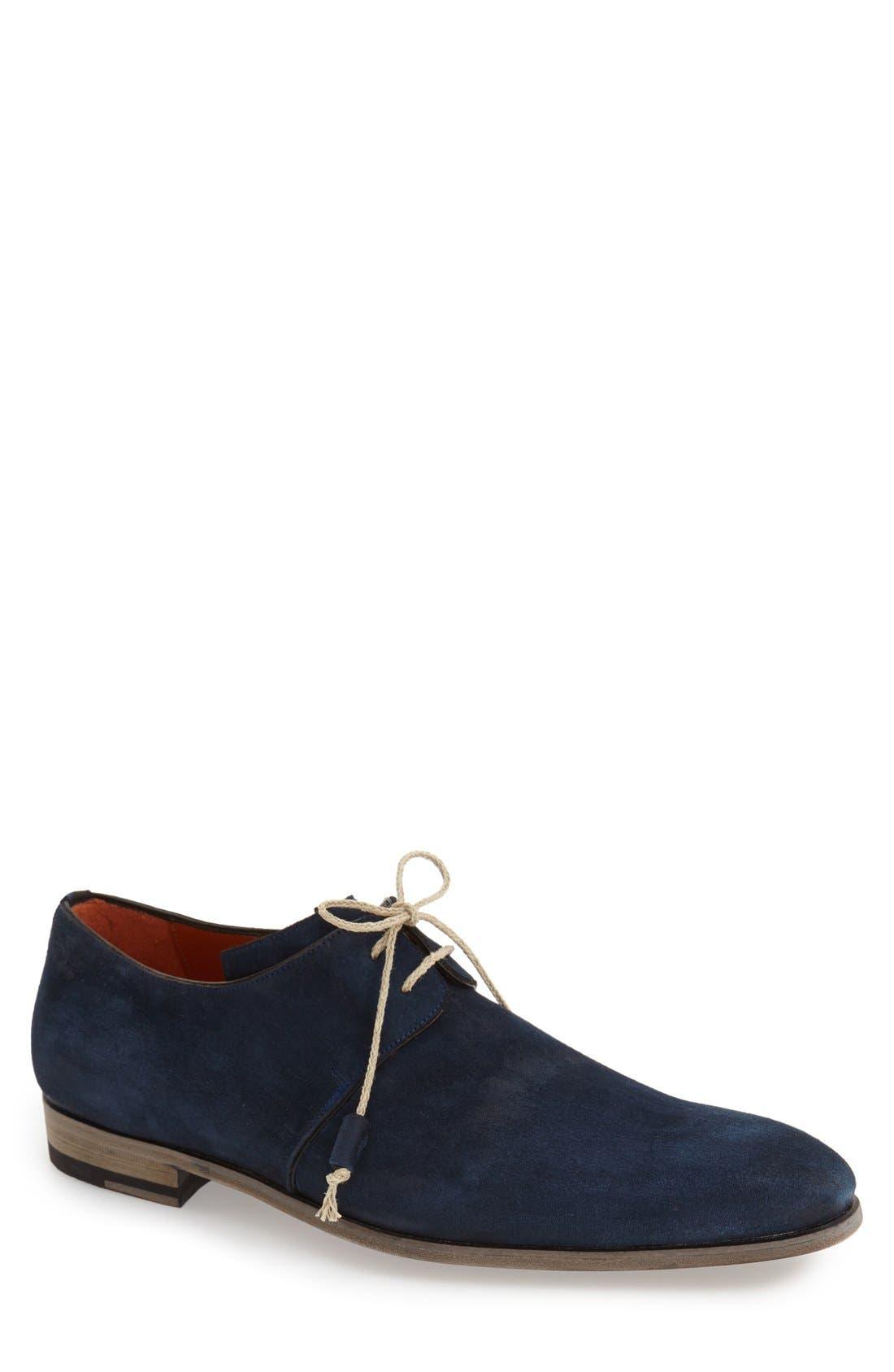 'Fenis' Plain Toe Derby,                         Main,                         color, 410
