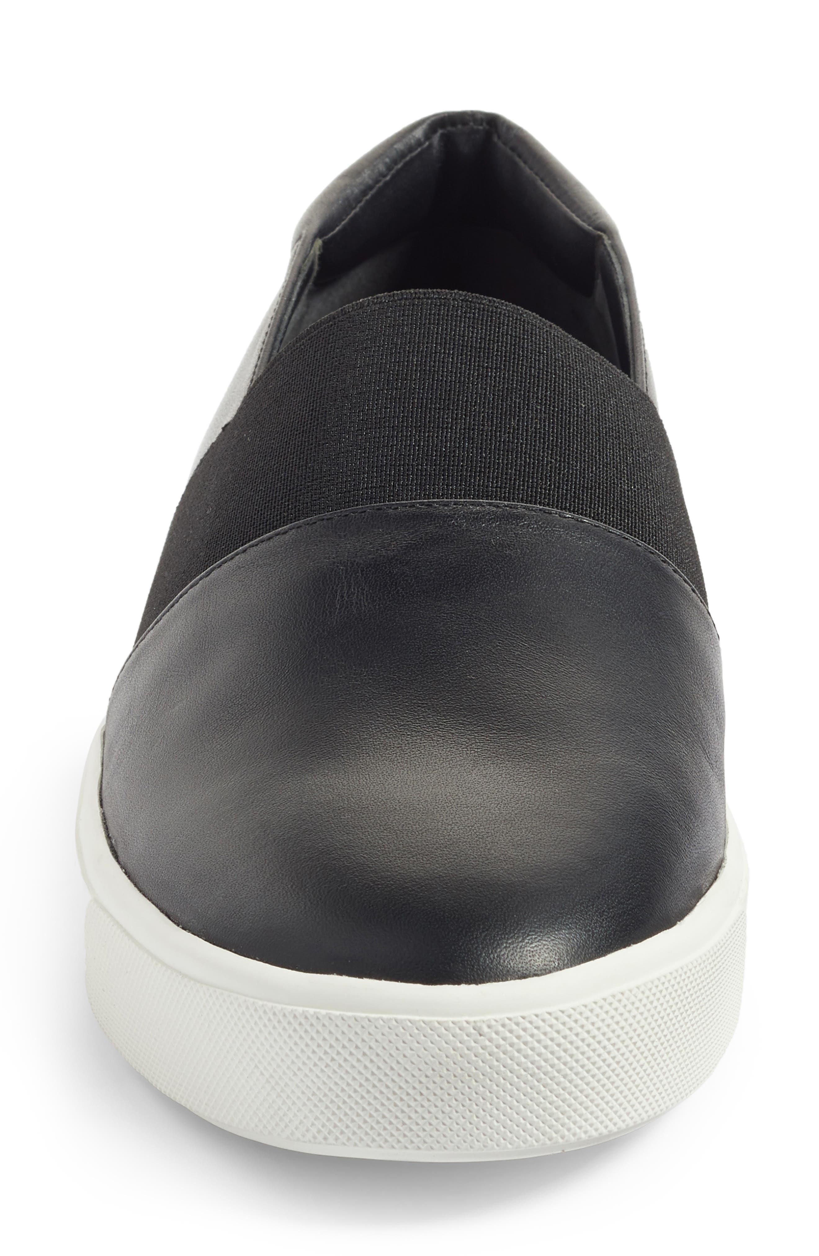 Corbin Slip-On Sneaker,                             Alternate thumbnail 4, color,                             001
