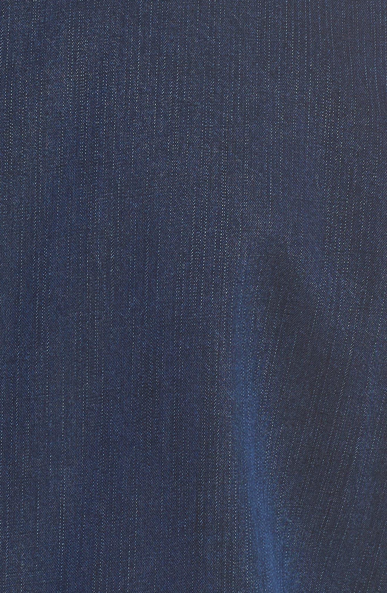Classic Collar Cotton Blend Jacket,                             Alternate thumbnail 7, color,                             419
