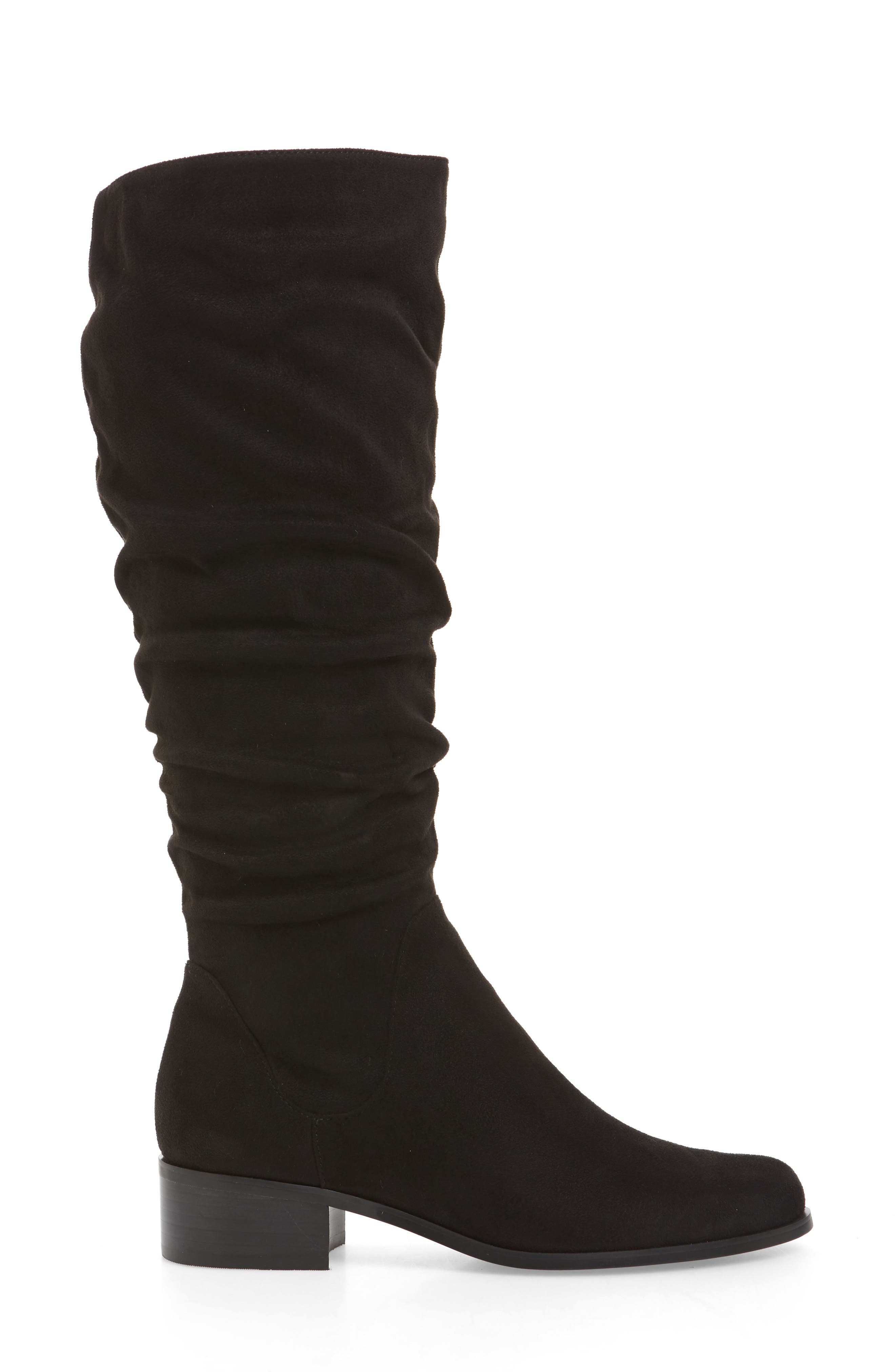 Guru Slouchy Knee High Boot,                             Alternate thumbnail 3, color,                             001