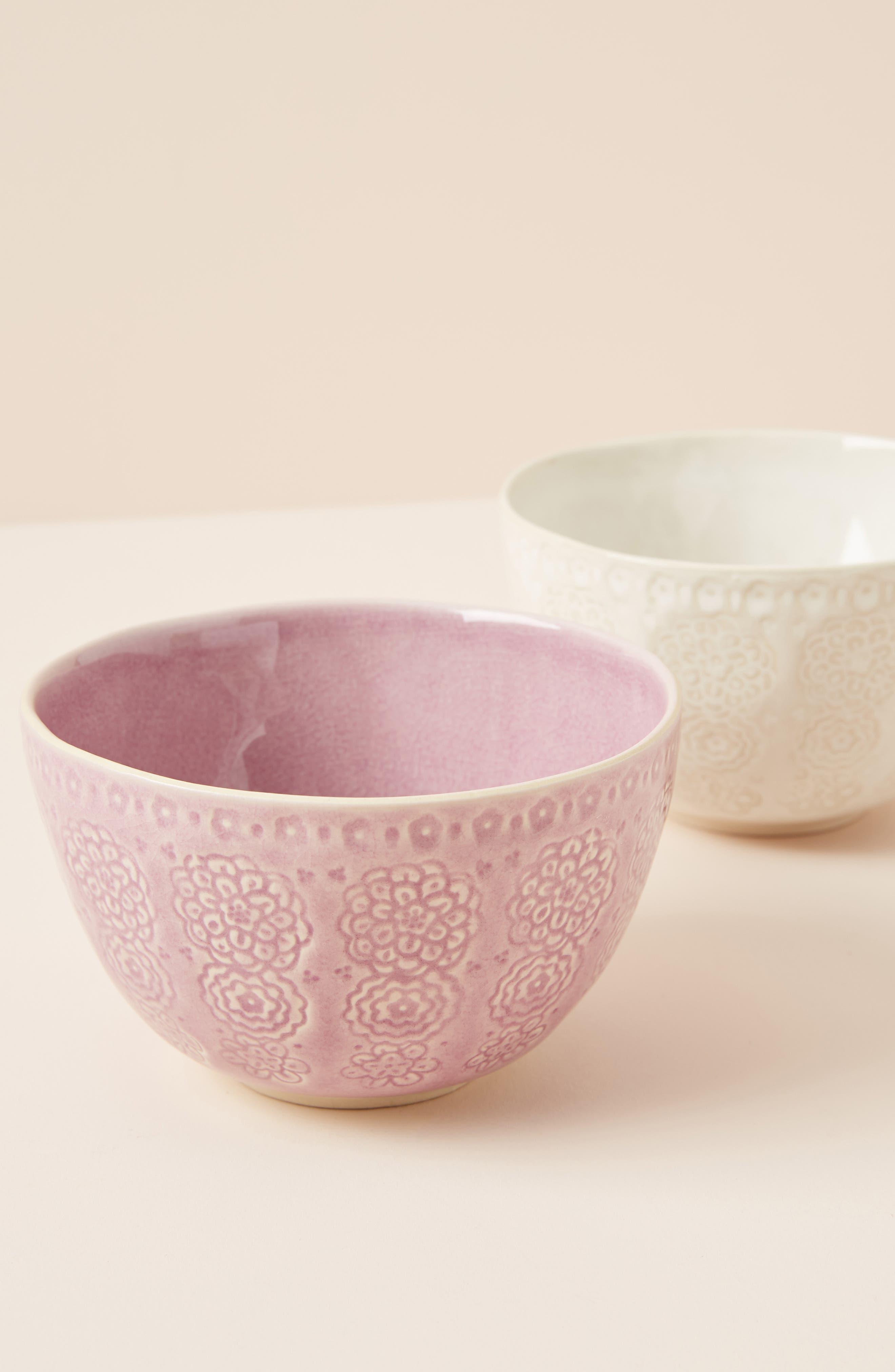 ANTHROPOLOGIE Veru Bowl, Main, color, WHITE