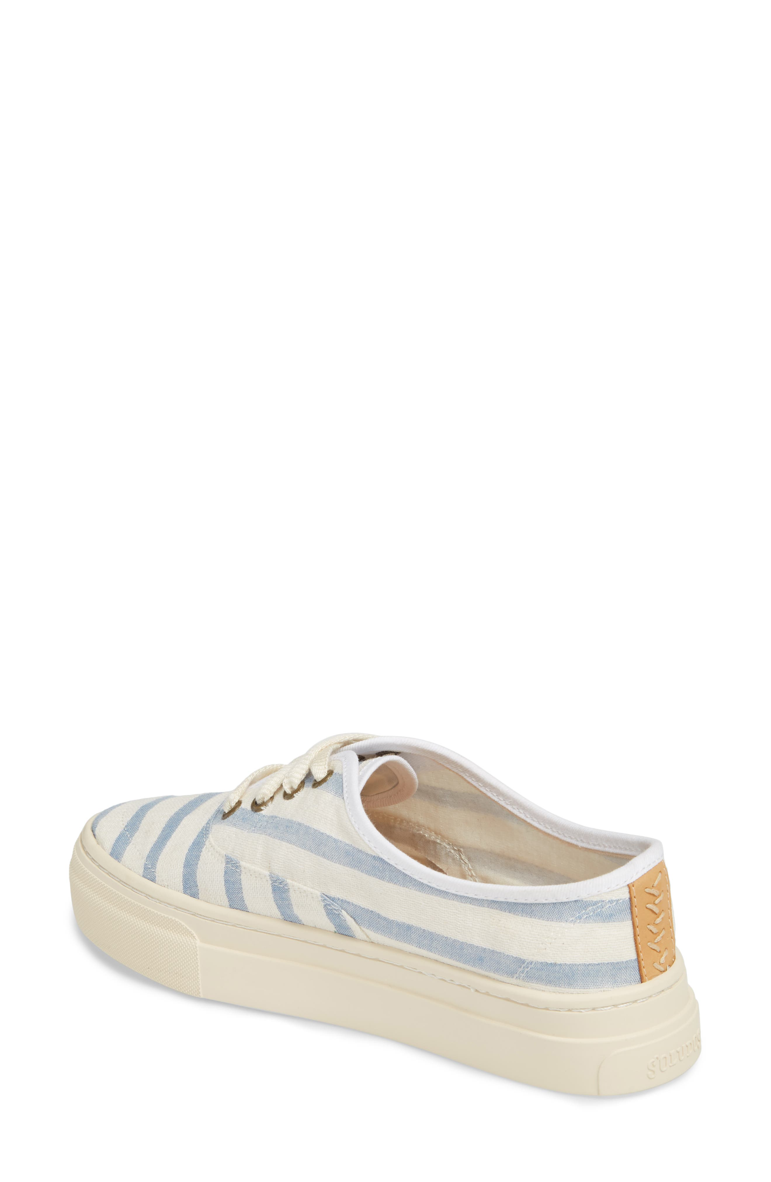 Platform Stripe Sneaker,                             Alternate thumbnail 2, color,