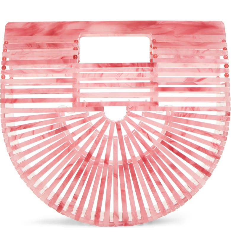 CULT GAIA Mini Ark Handbag, Main, color, CHQ CHERRY QUARTZ
