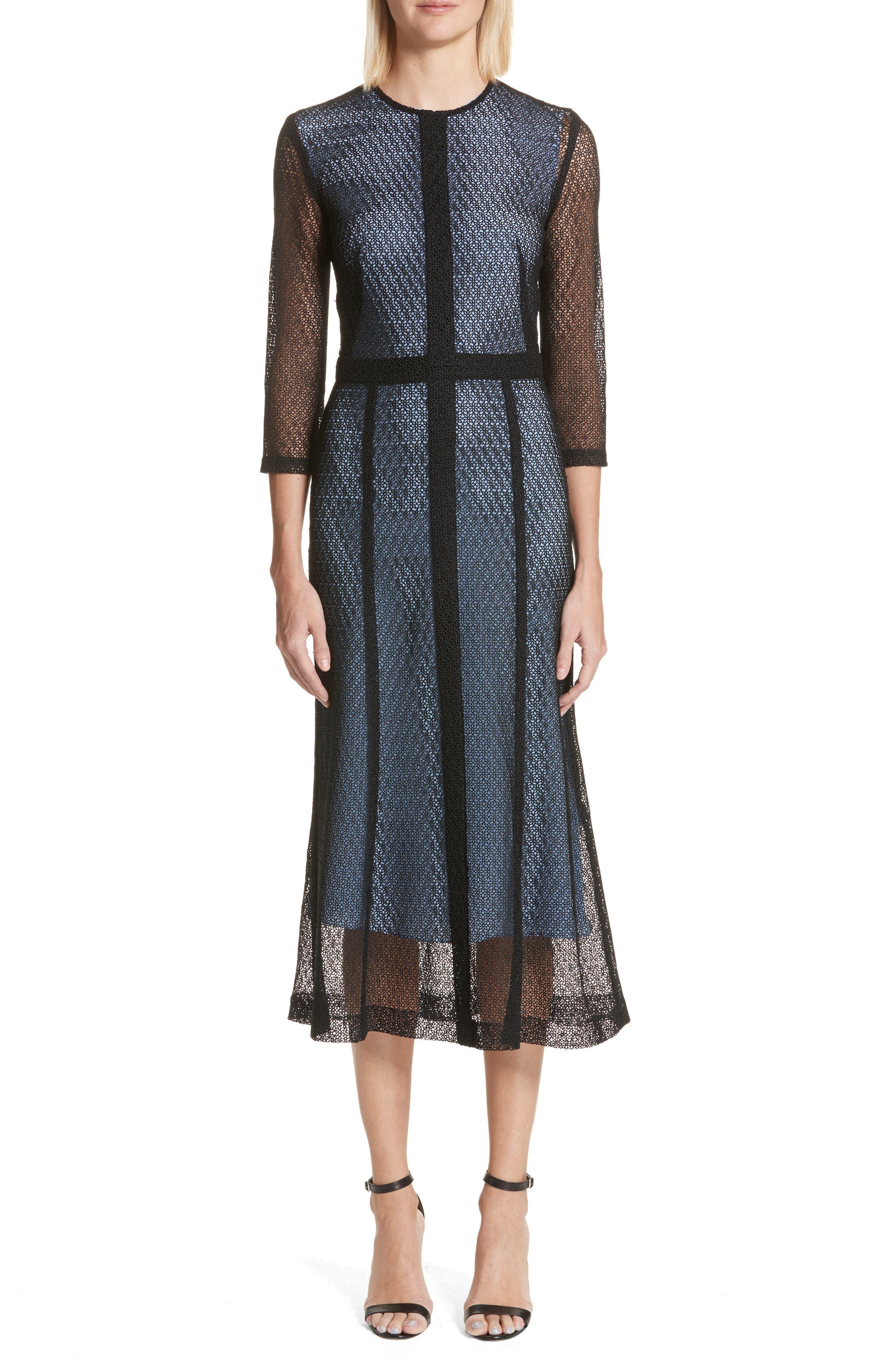 Lace Midi Dress,                         Main,                         color,