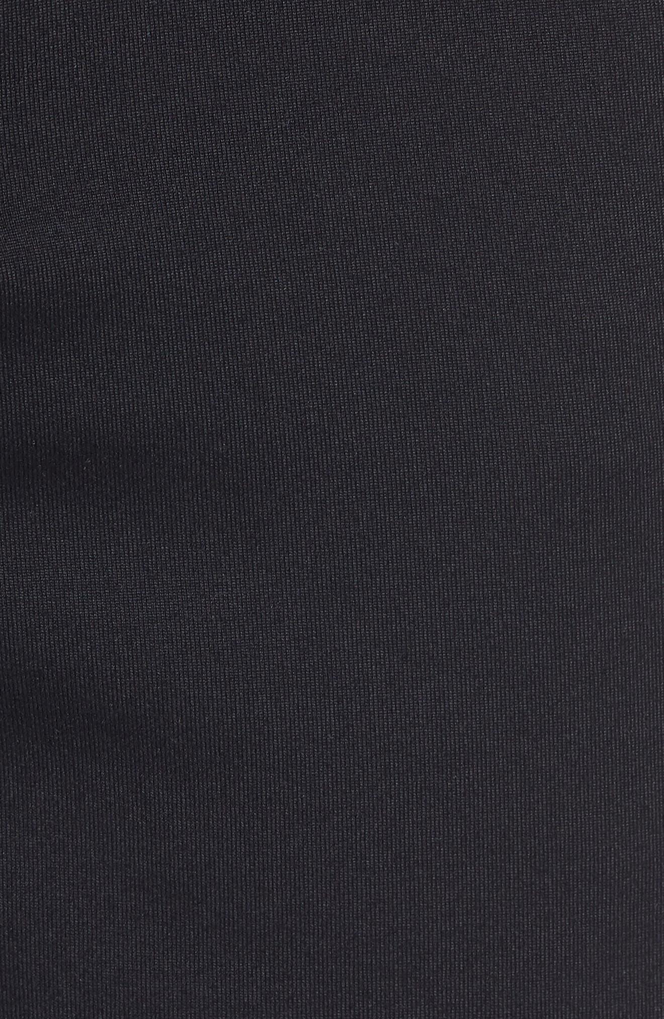206 Shorts,                             Alternate thumbnail 5, color,                             BLACK