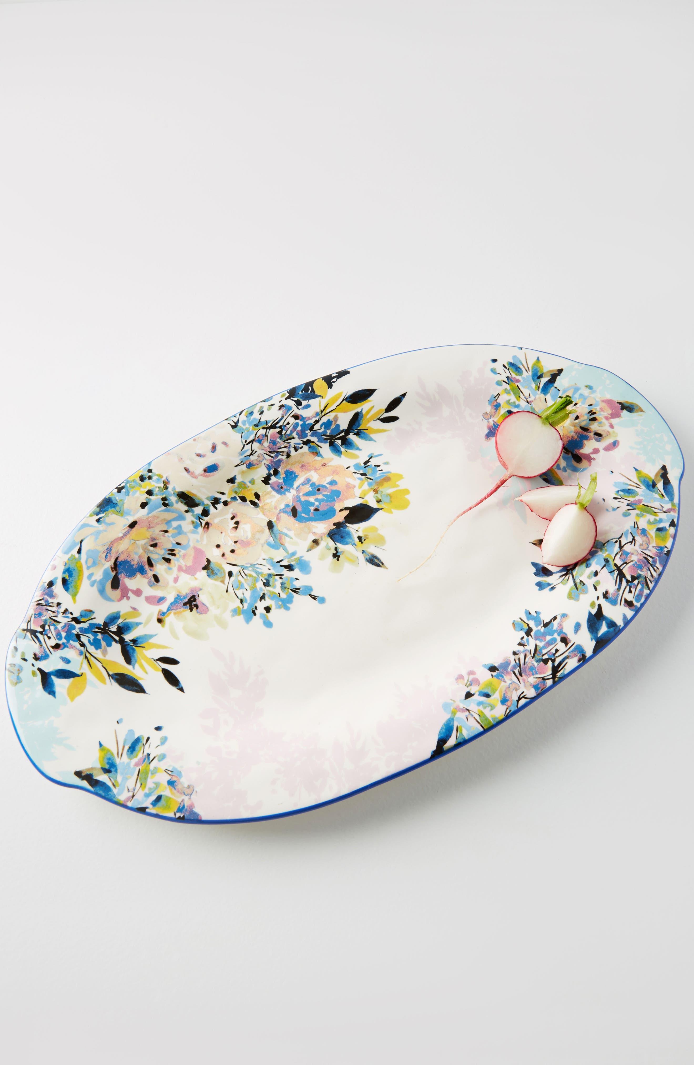 Gardenshire Earthenware Platter,                         Main,                         color, 400