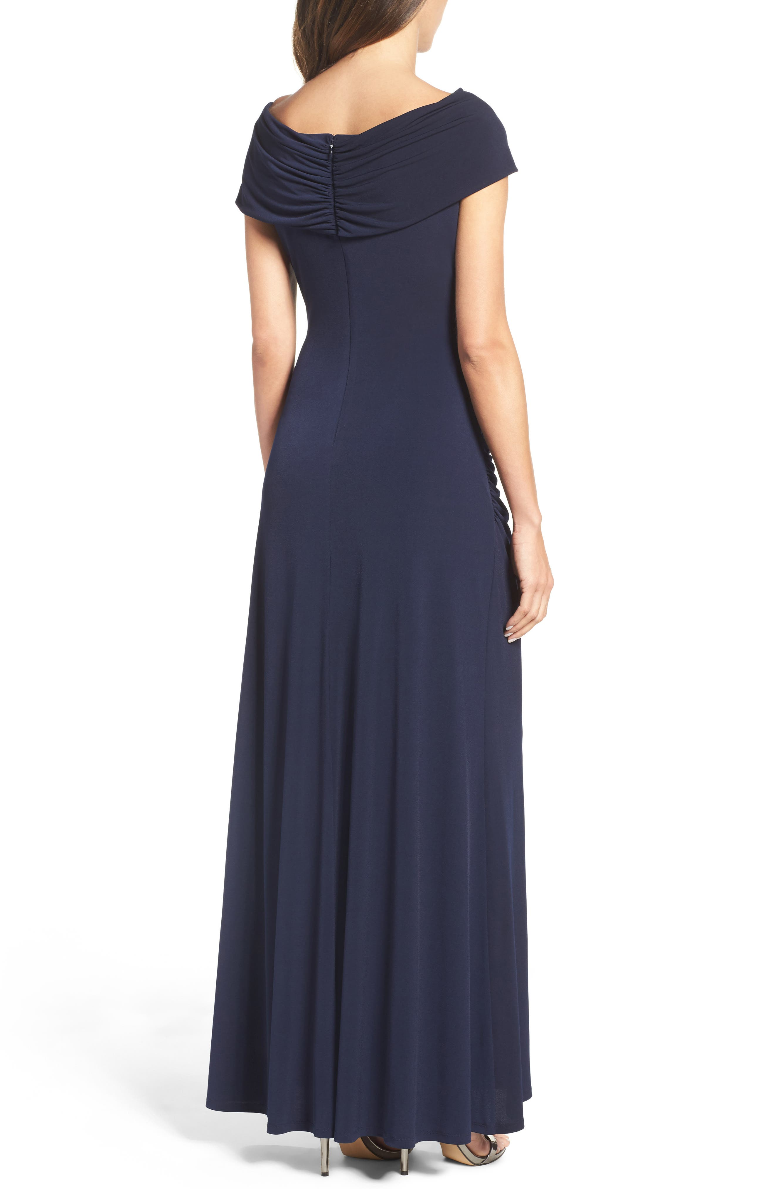 Jersey Gown,                             Alternate thumbnail 2, color,                             410