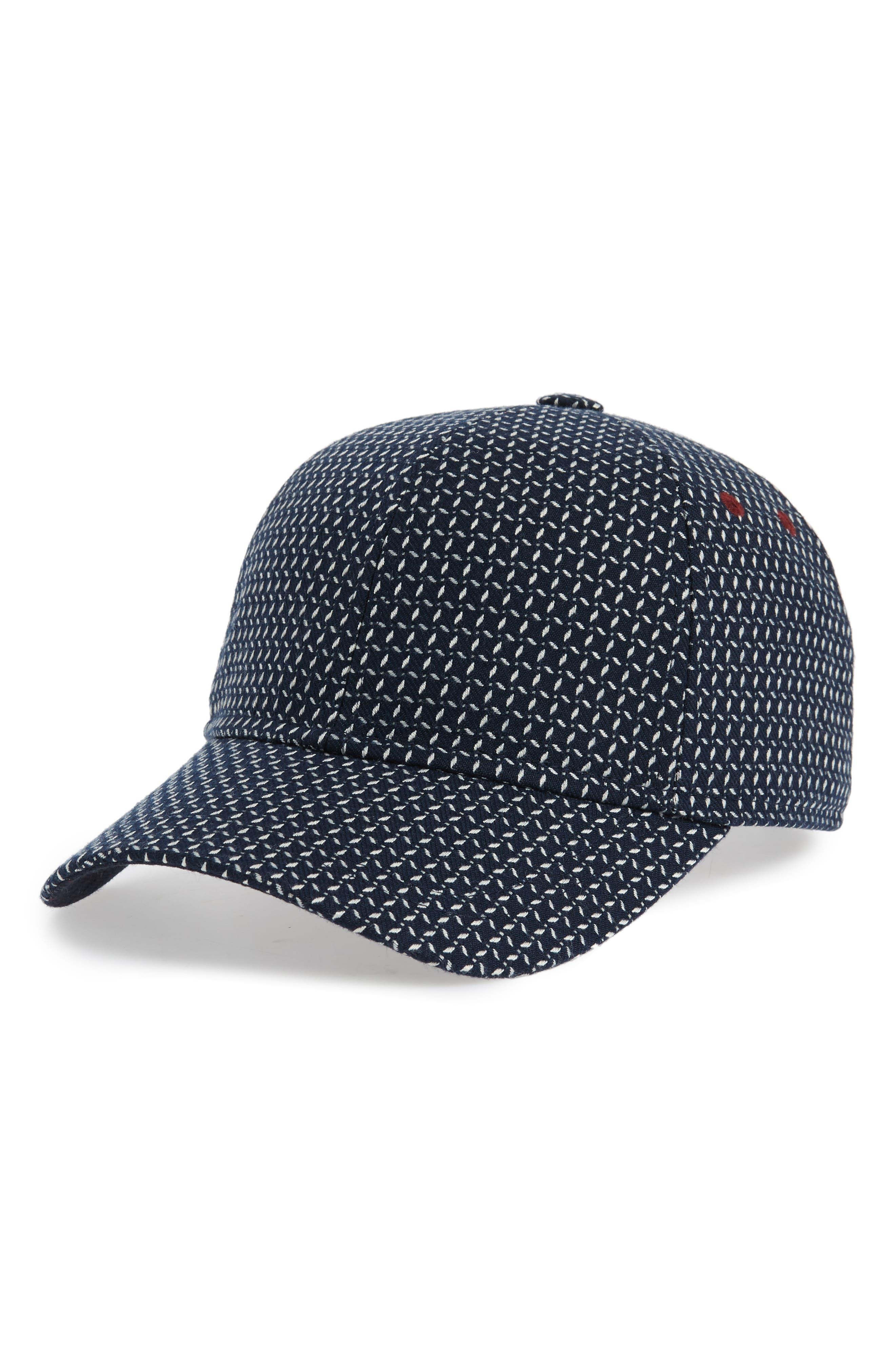 Jacquard Baseball Cap,                         Main,                         color, 410