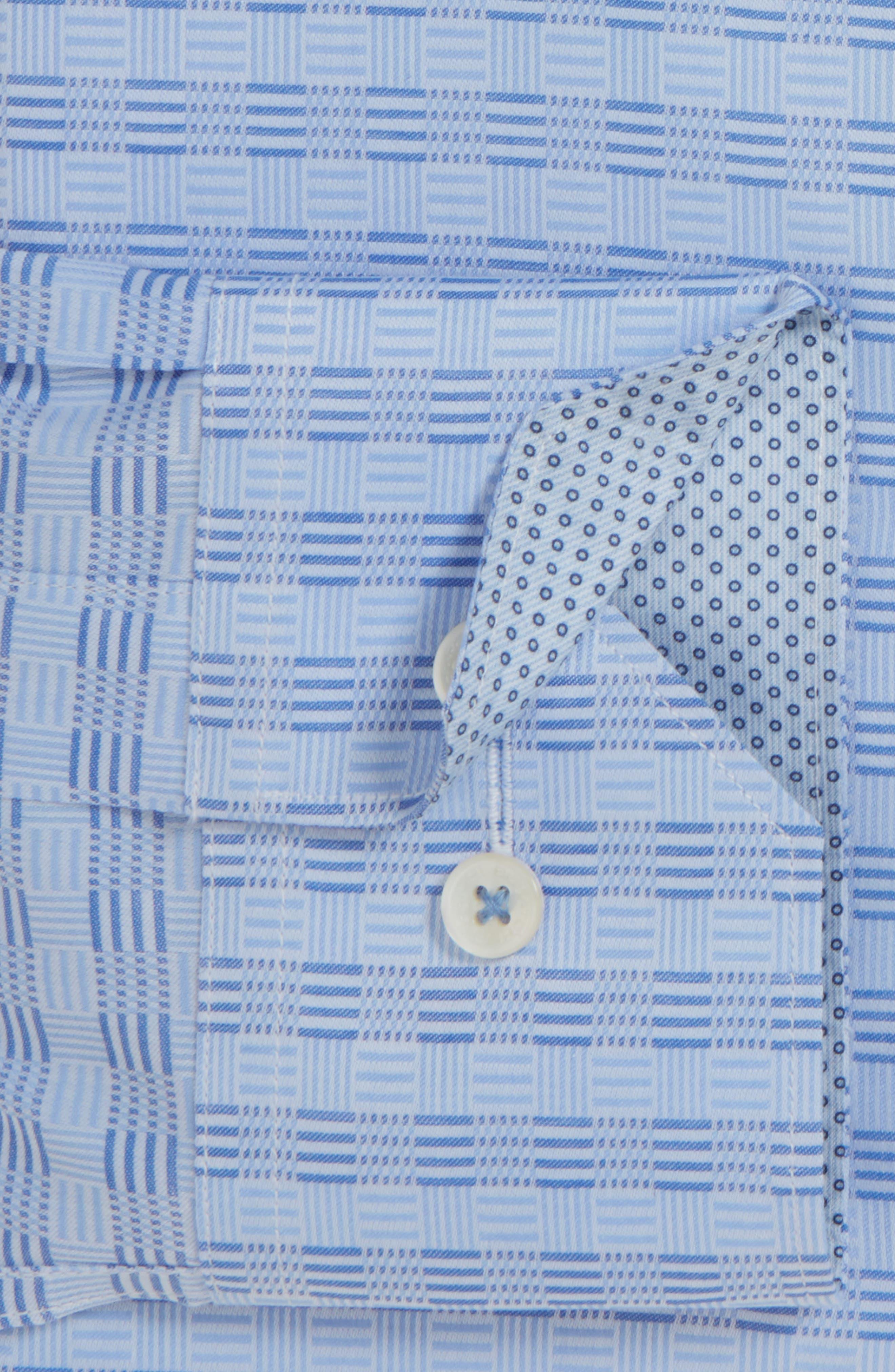 Shaped Fit Sport Shirt,                             Alternate thumbnail 6, color,
