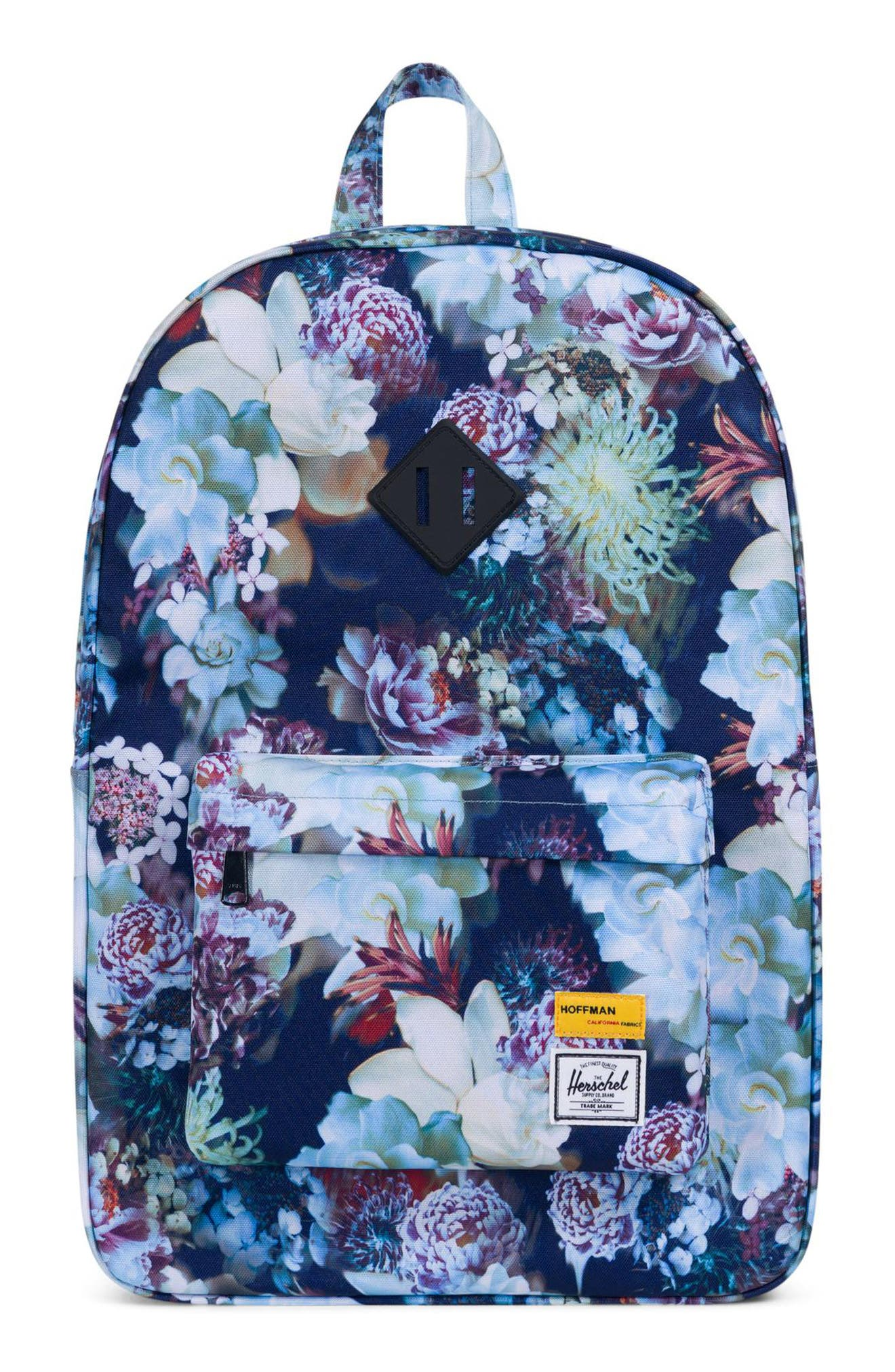 Heritage Hoffman Backpack,                             Main thumbnail 1, color,                             WINTER FLORAL