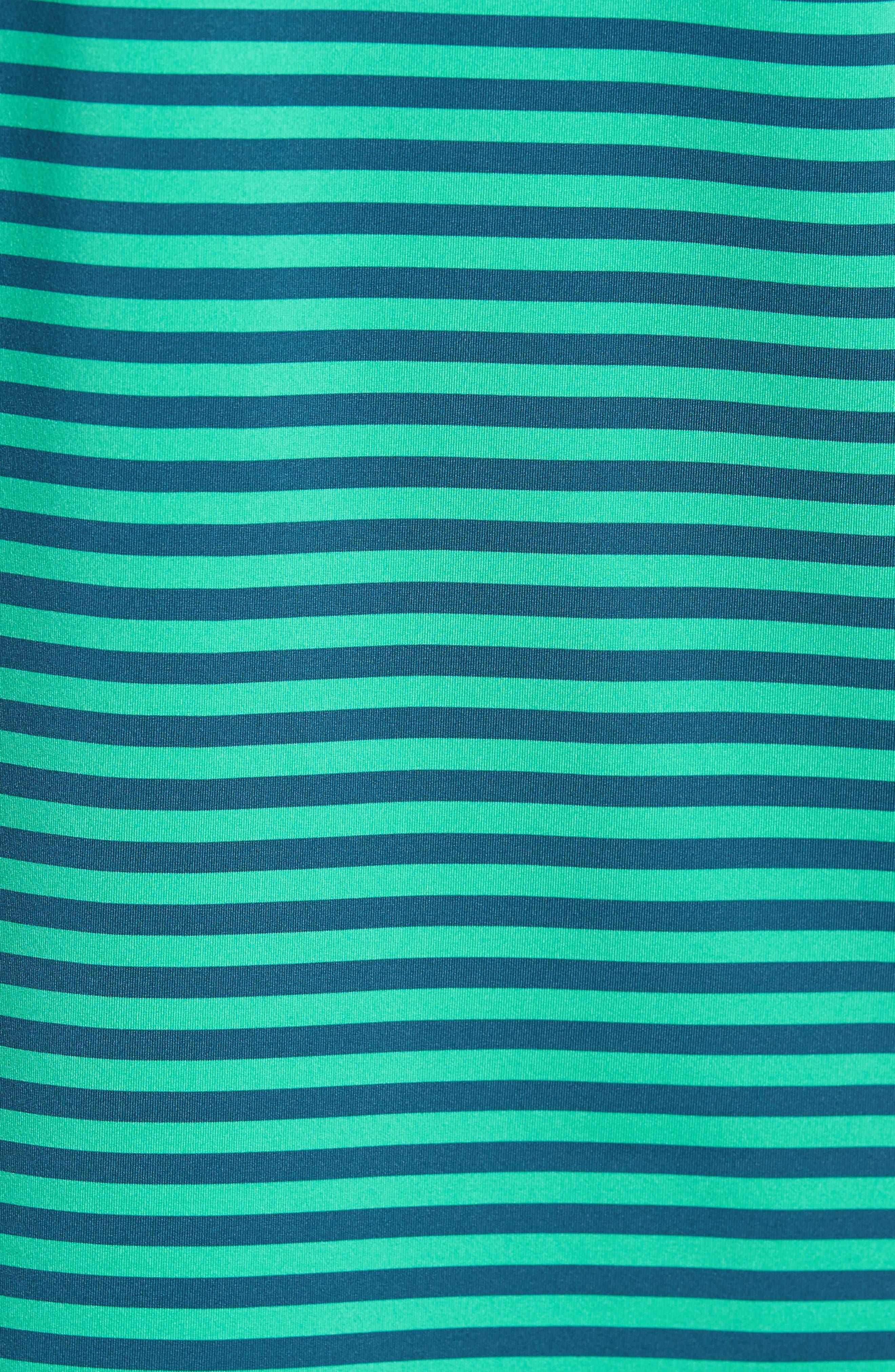 Burke Stripe Performance Polo,                             Alternate thumbnail 5, color,
