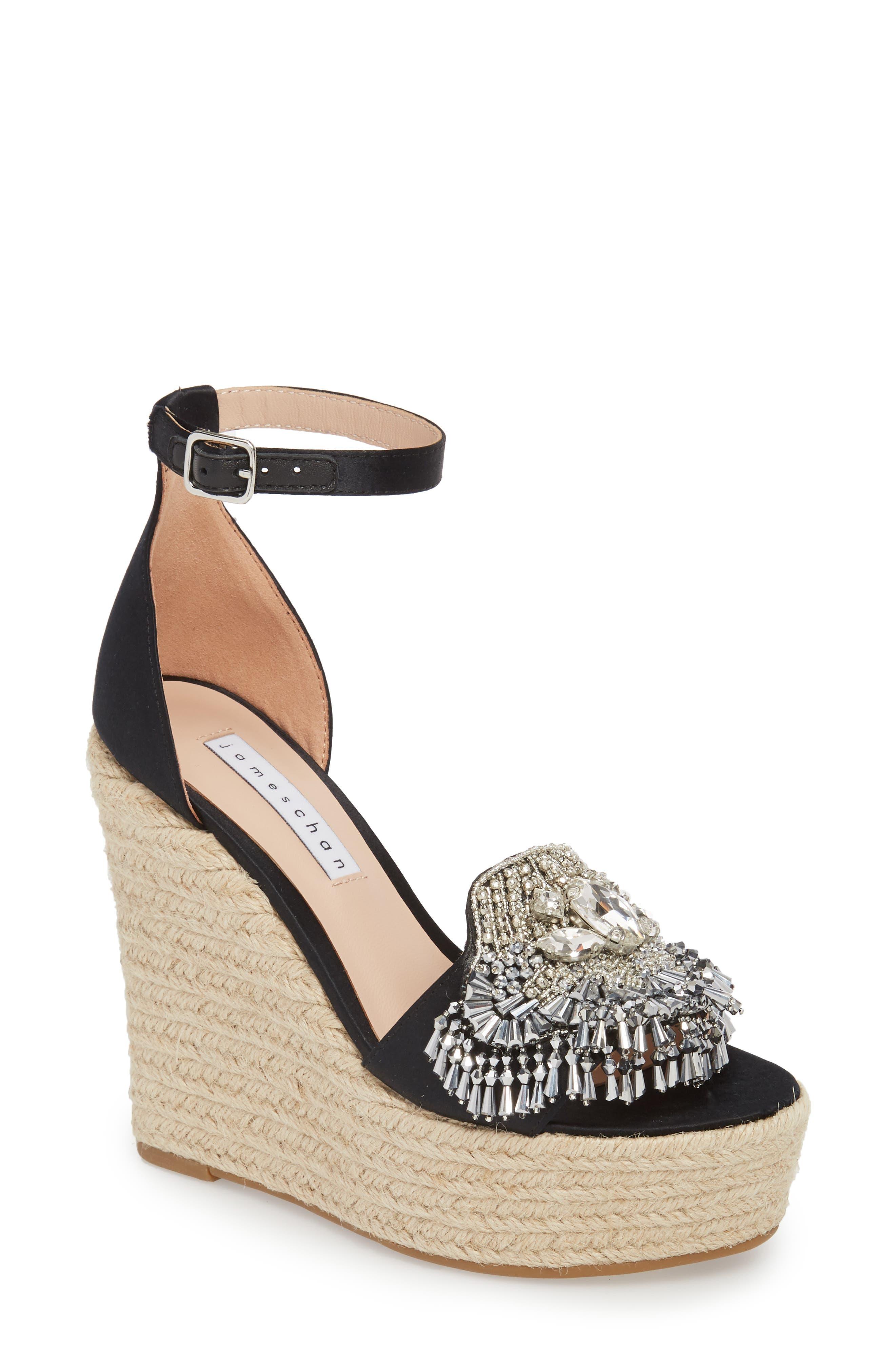 Maxim Platform Wedge Sandal,                             Main thumbnail 1, color,