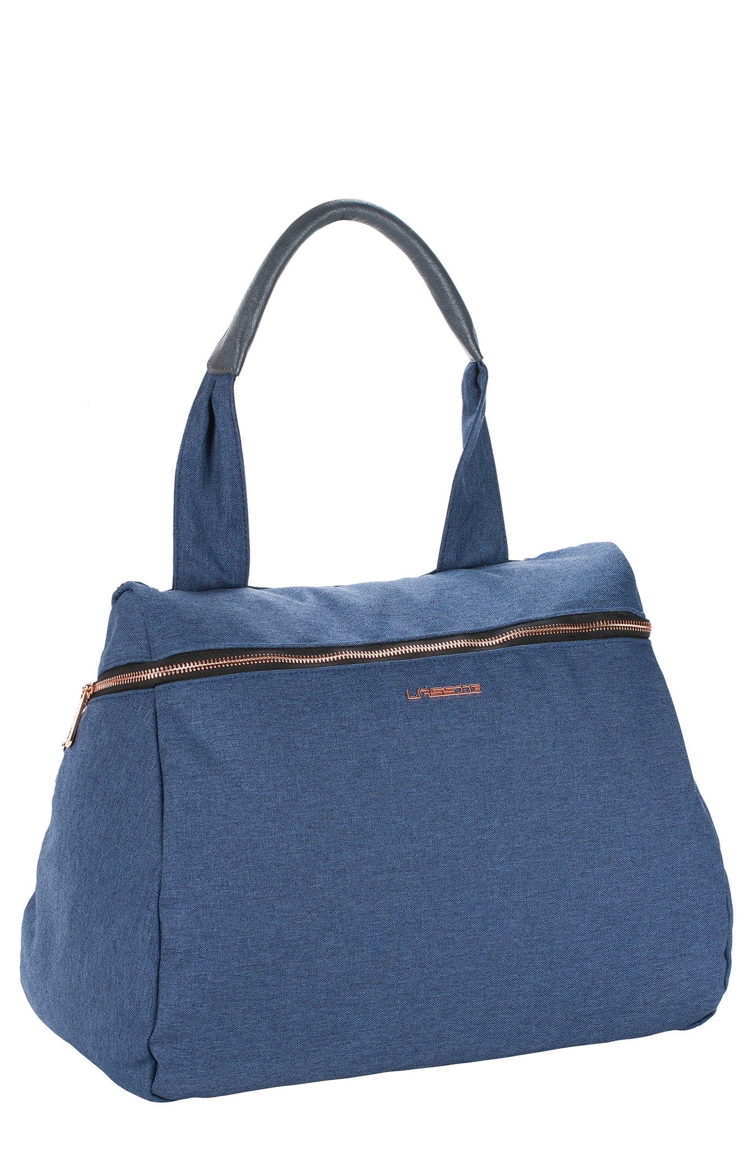 Infant Lassig Glam Rosie Diaper Bag  Blue
