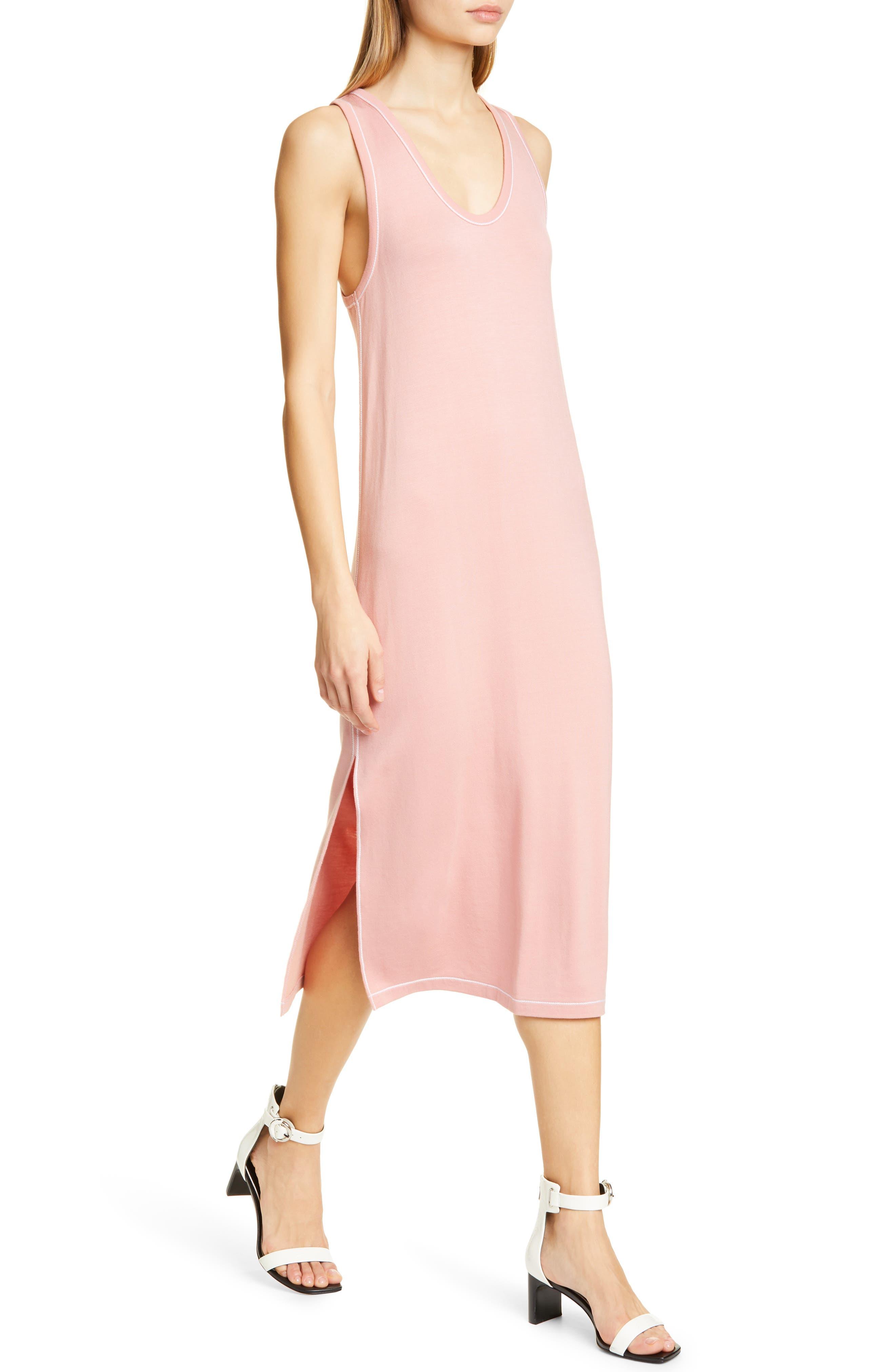 Rag & Bone Marlon Tank Dress, Pink
