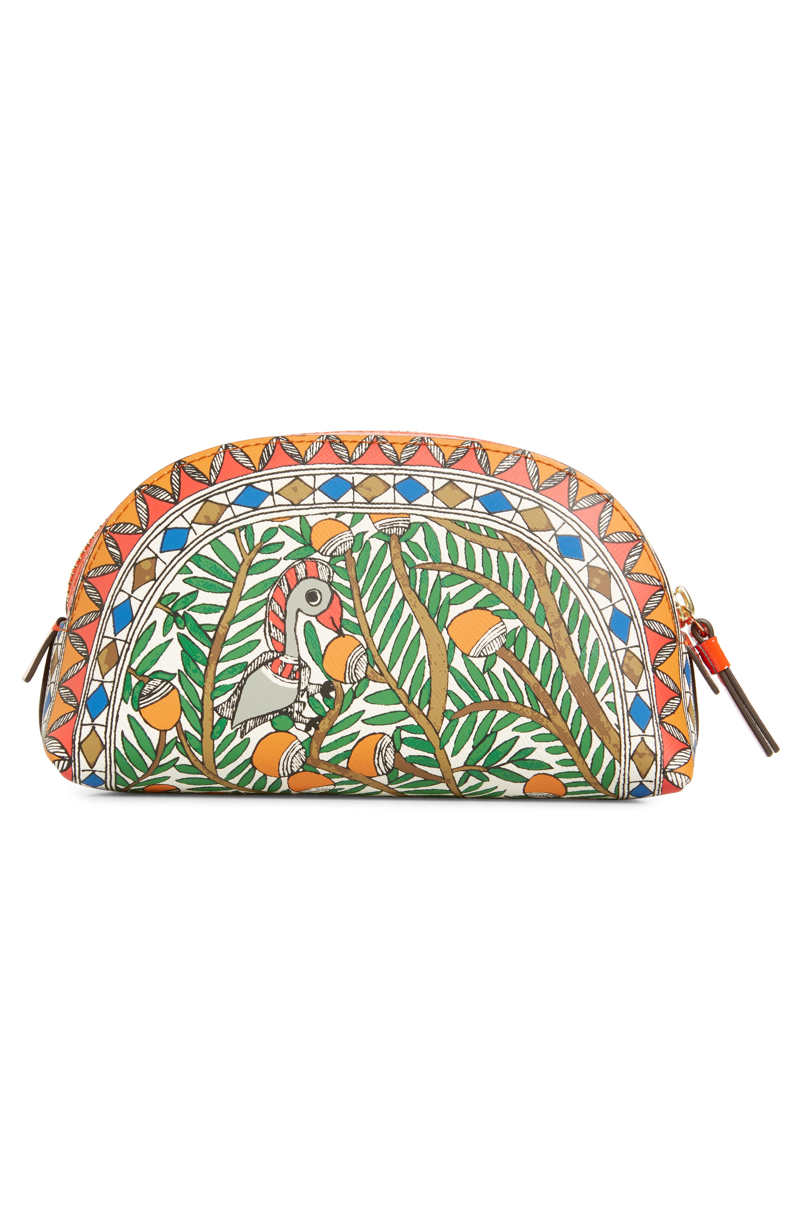 TORY BURCH,                             Small Robinson Cosmetic Case,                             Alternate thumbnail 2, color,                             SOMETHING WILD
