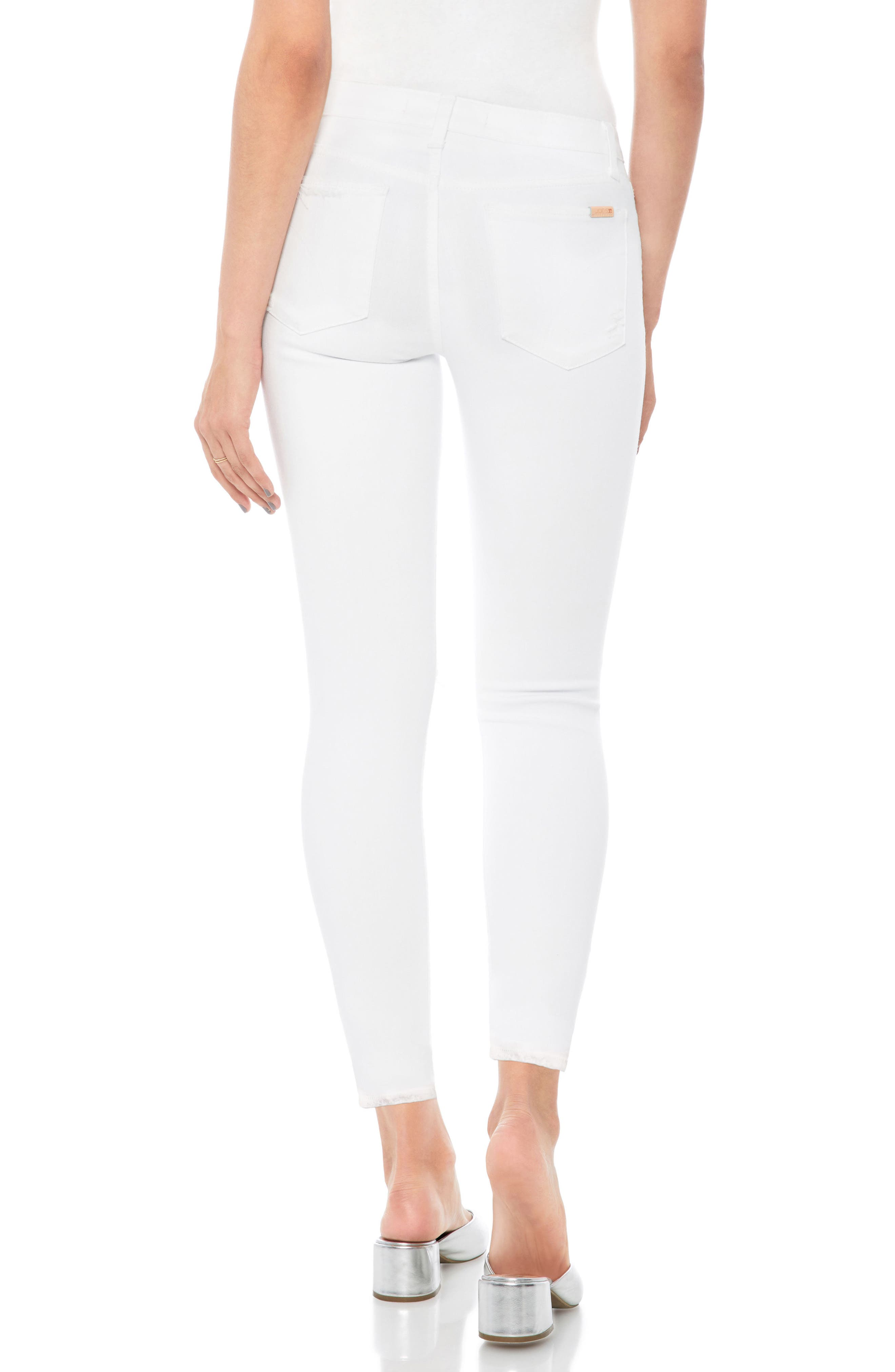 Flawless - Icon Crop Skinny Jeans,                             Alternate thumbnail 2, color,