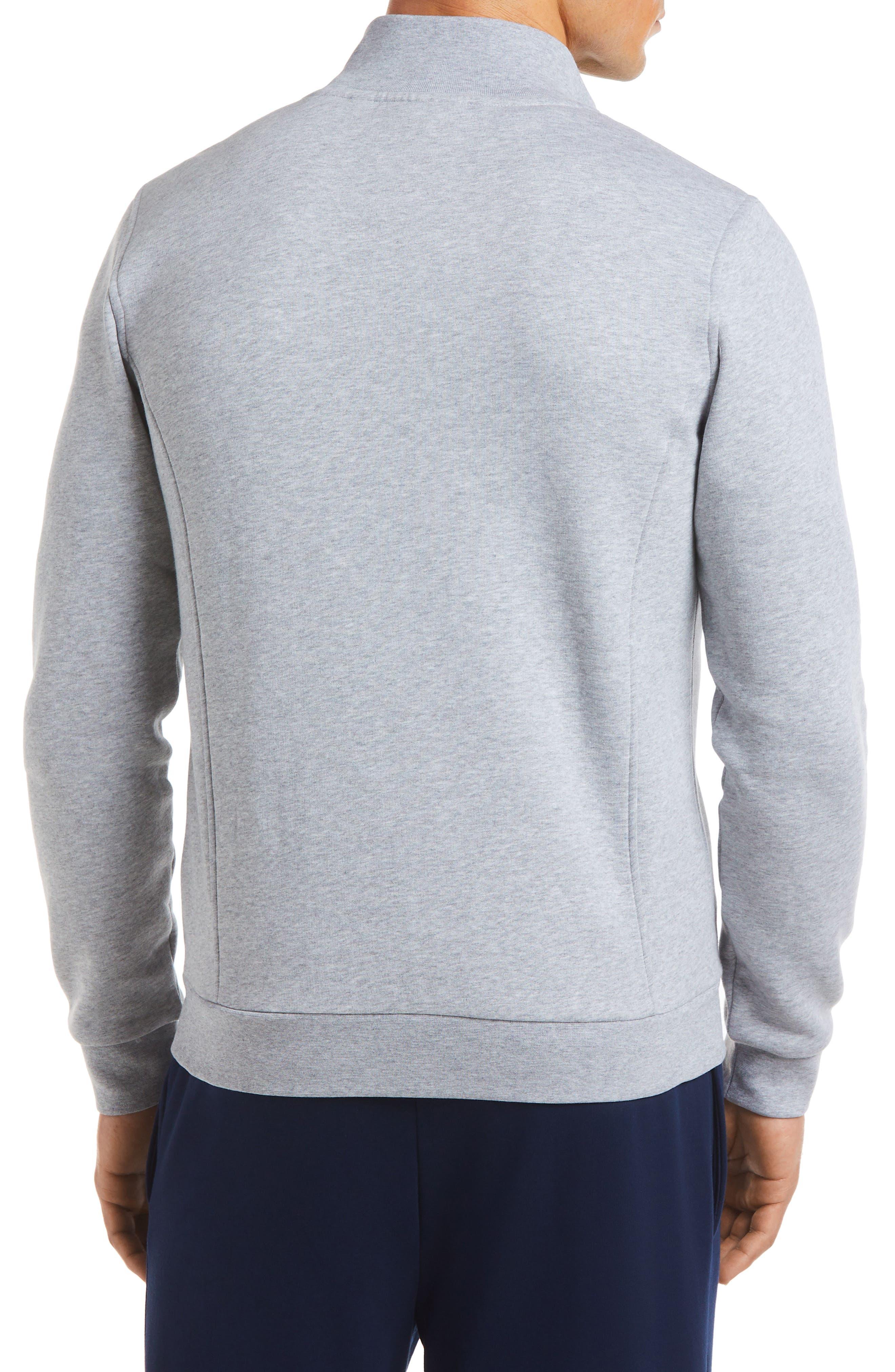 Fleece Zip Jacket,                             Alternate thumbnail 7, color,