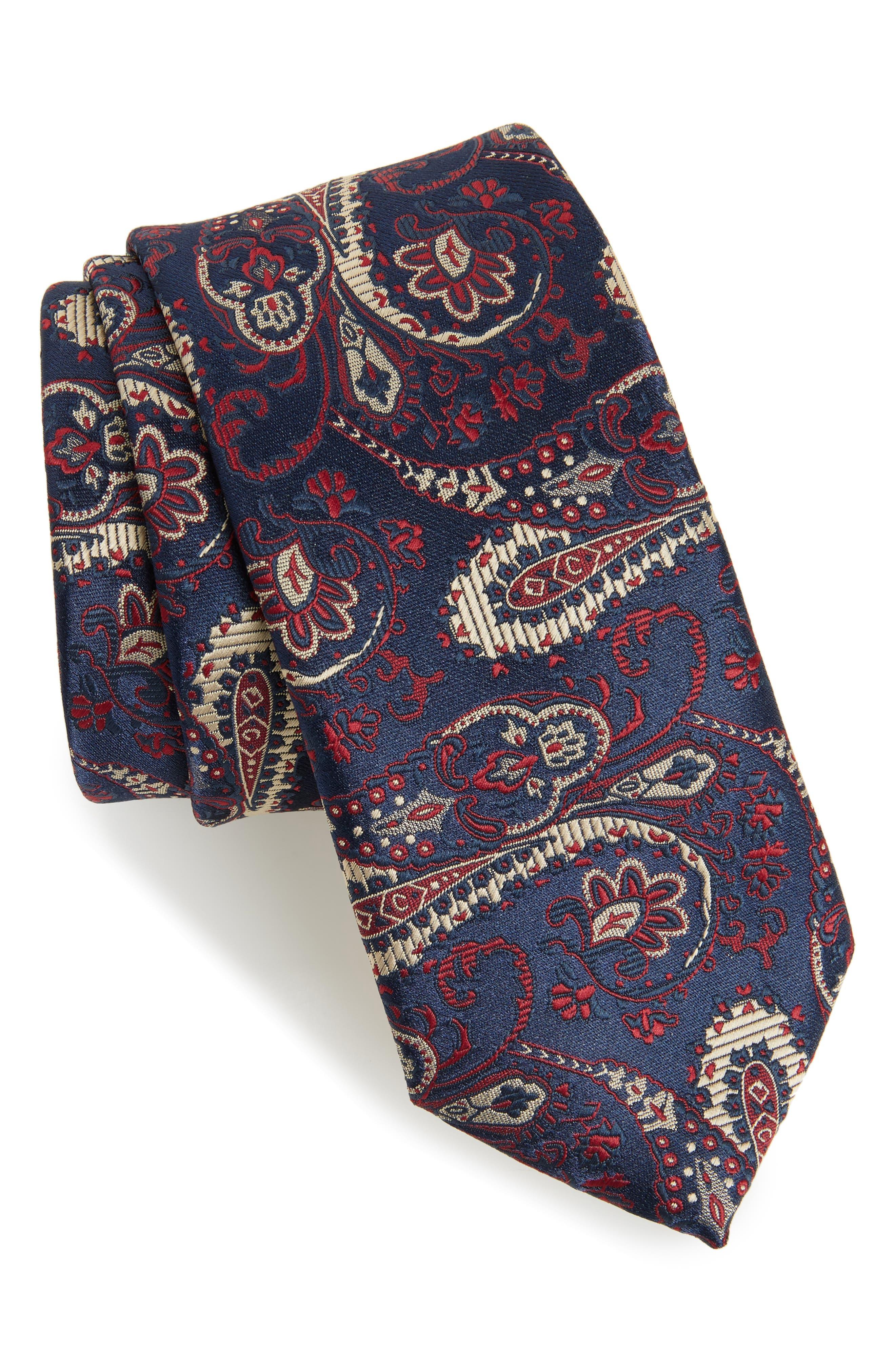 Paisley Tie,                         Main,                         color, 410