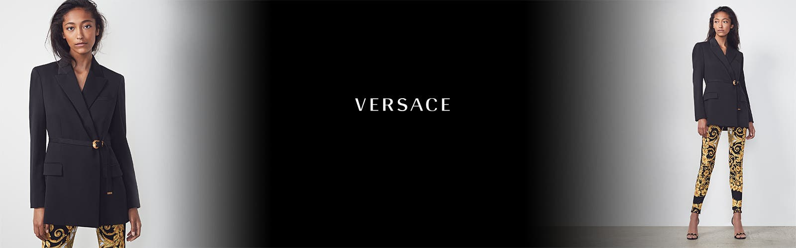Versace designer clothing, shoes and accessories.