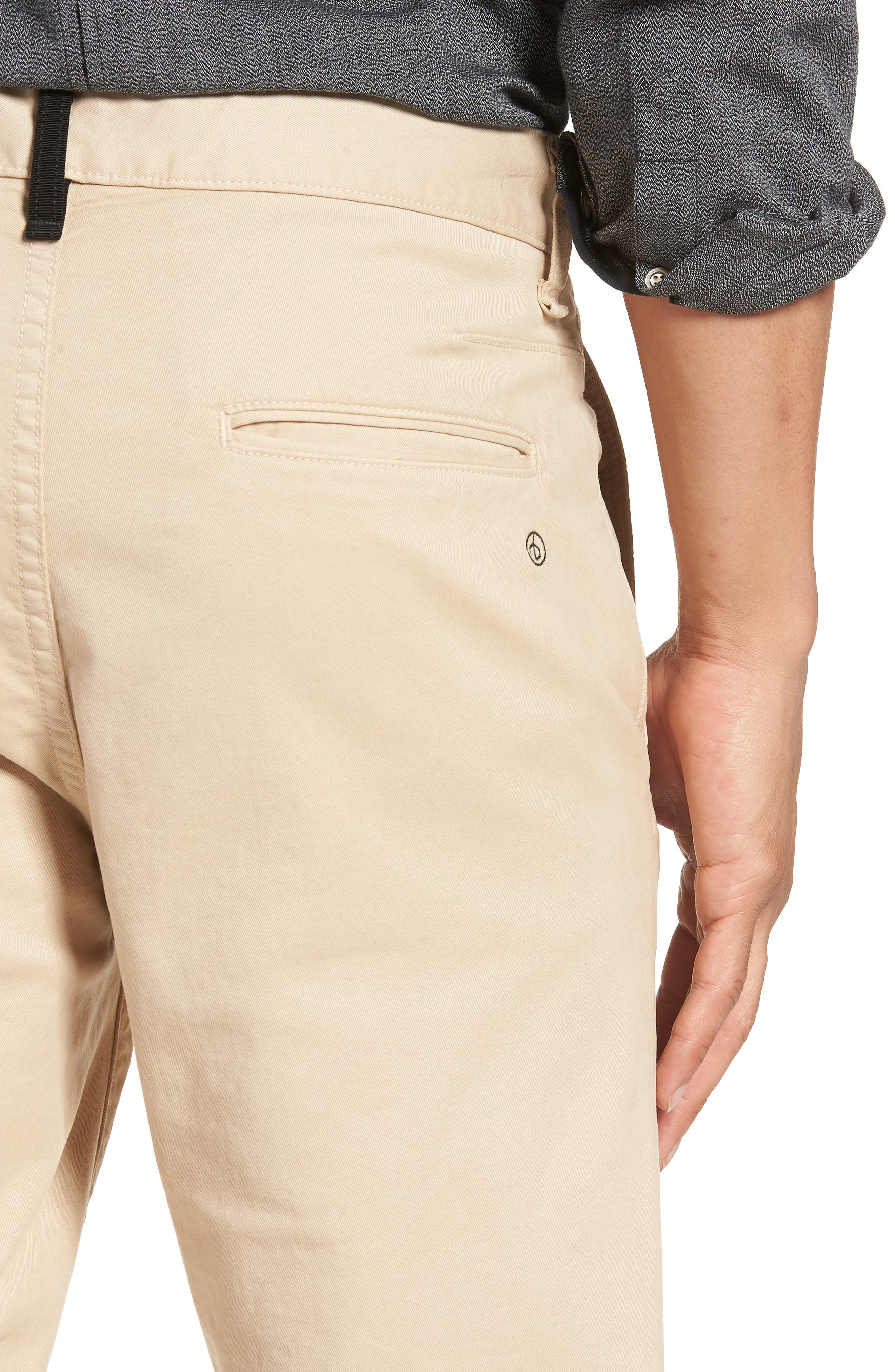 Fit 2 Chinos,                             Alternate thumbnail 4, color,                             BEIGE