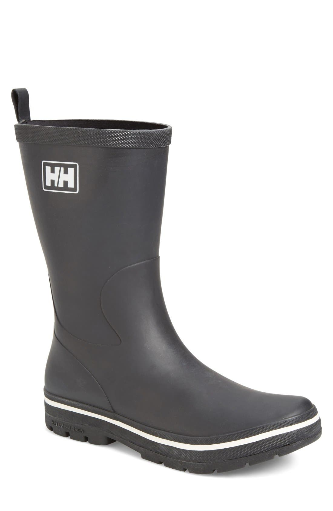 'Midsund 2' Rain Boot,                             Main thumbnail 1, color,                             002