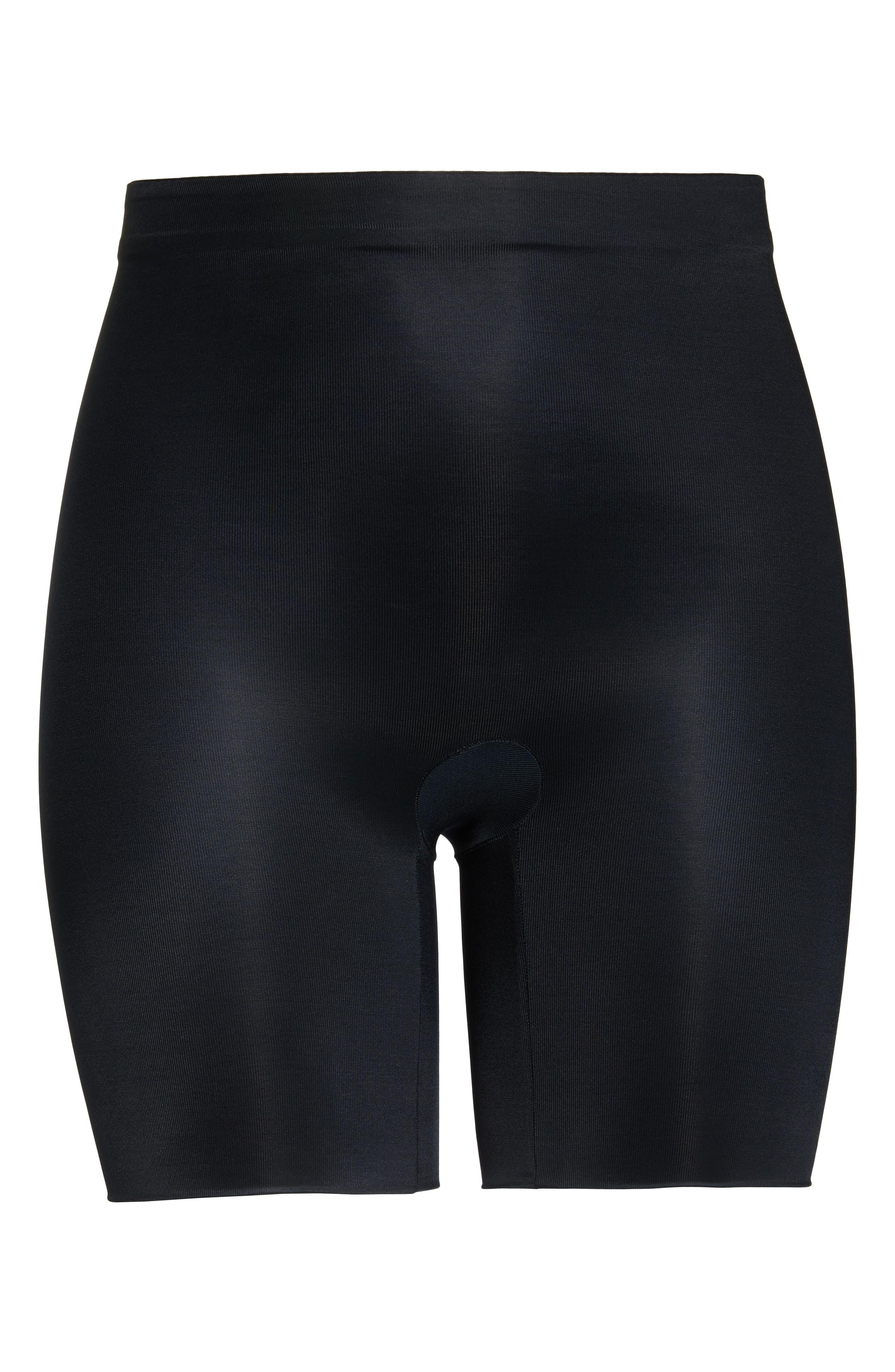 SPANX<SUP>®</SUP>,                             Suit Your Fancy Butt Enhancer Shorts,                             Alternate thumbnail 6, color,                             VERY BLACK