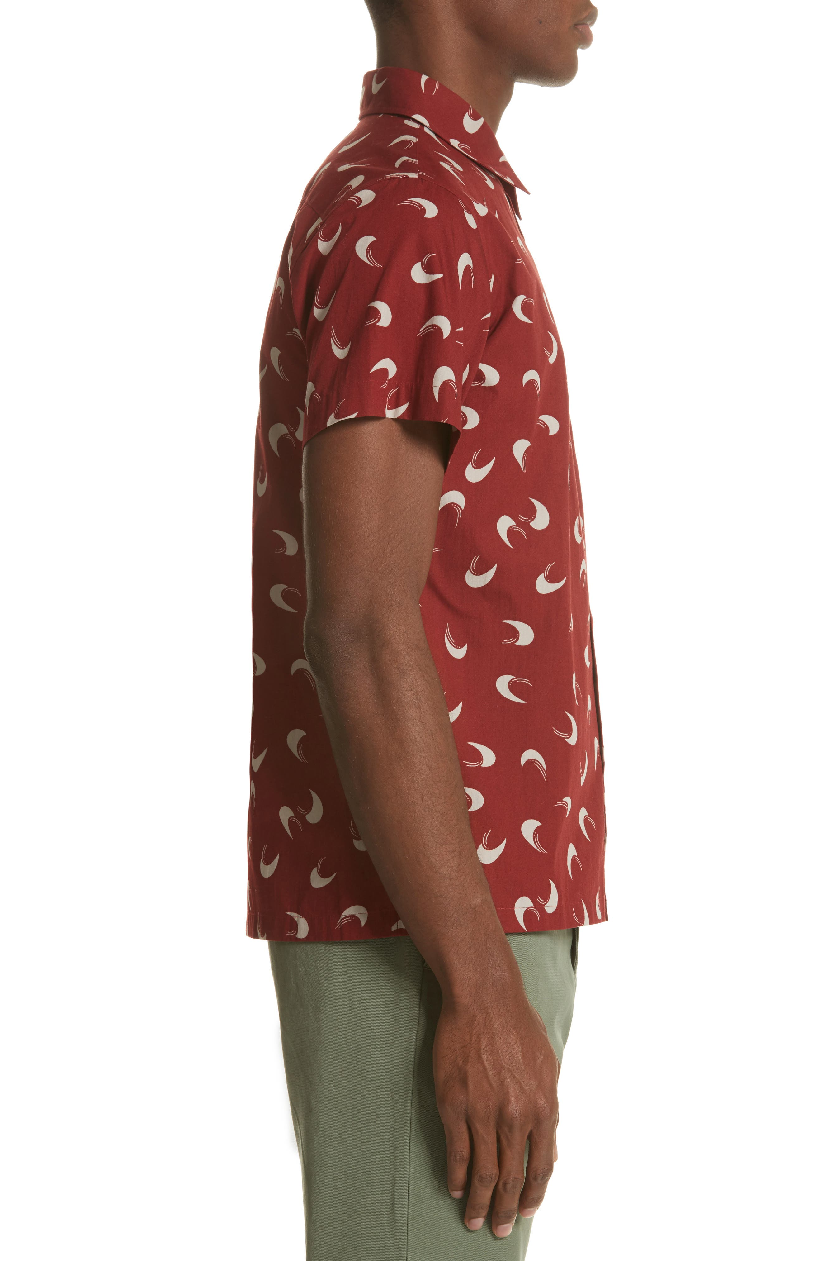 Cippi Woven Shirt,                             Alternate thumbnail 3, color,                             601