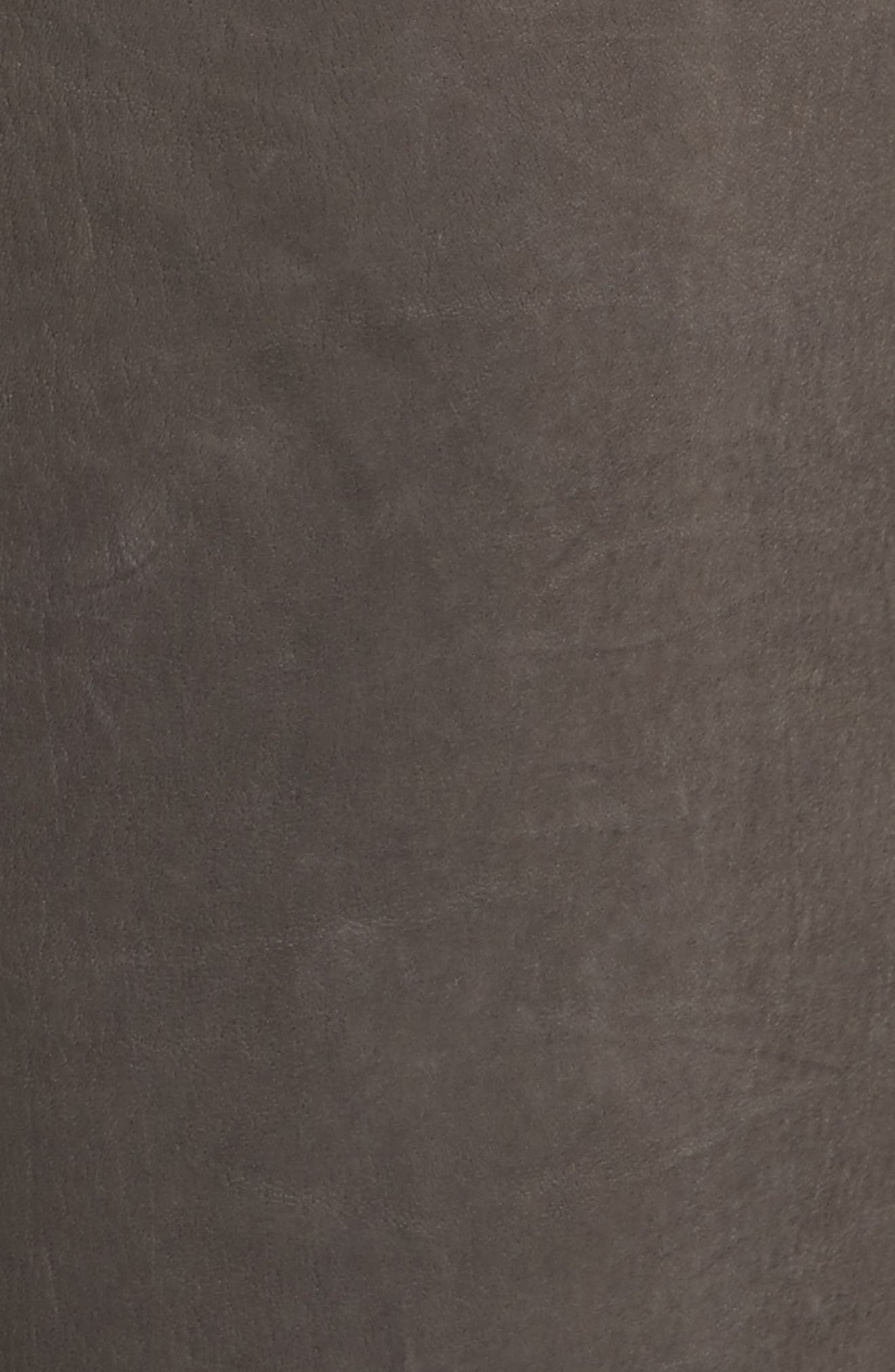 Le High Skinny Slit Leather Pants,                             Alternate thumbnail 10, color,