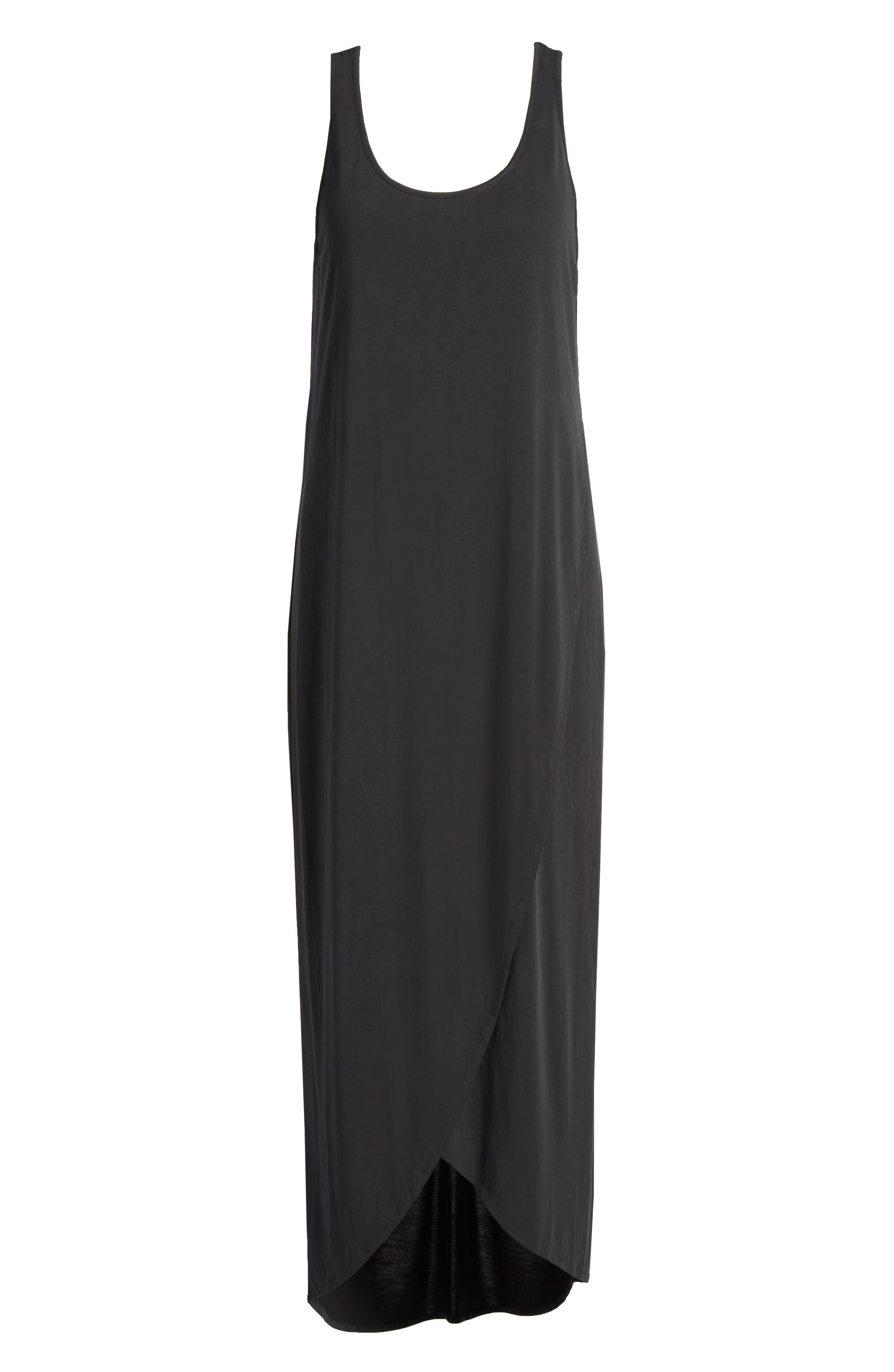 Boardwalk Jersey Maxi Dress,                             Alternate thumbnail 6, color,                             006