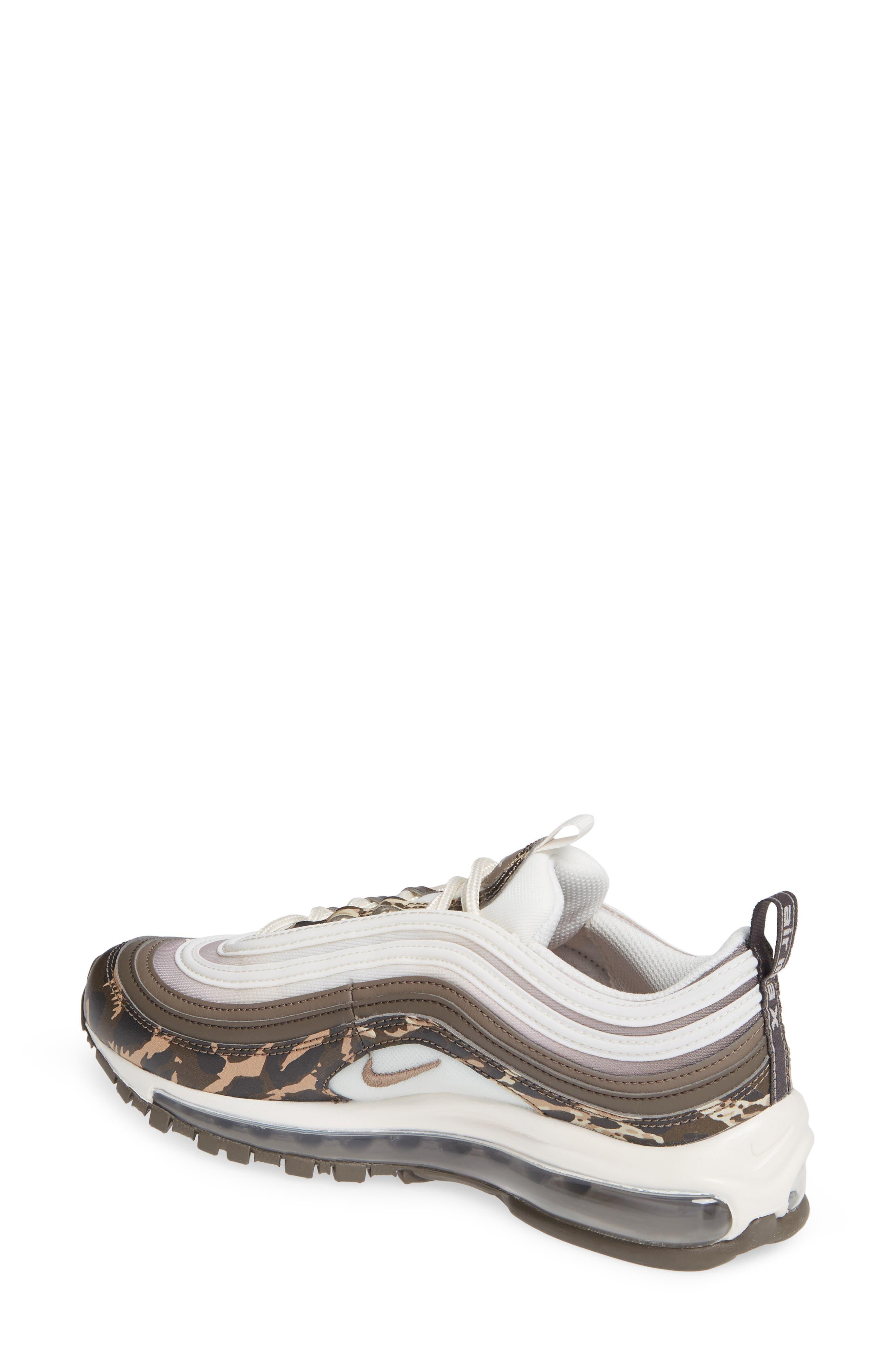 Air Max 97 Premium Sneaker,                             Alternate thumbnail 2, color,                             BROWN/ PHANTOM