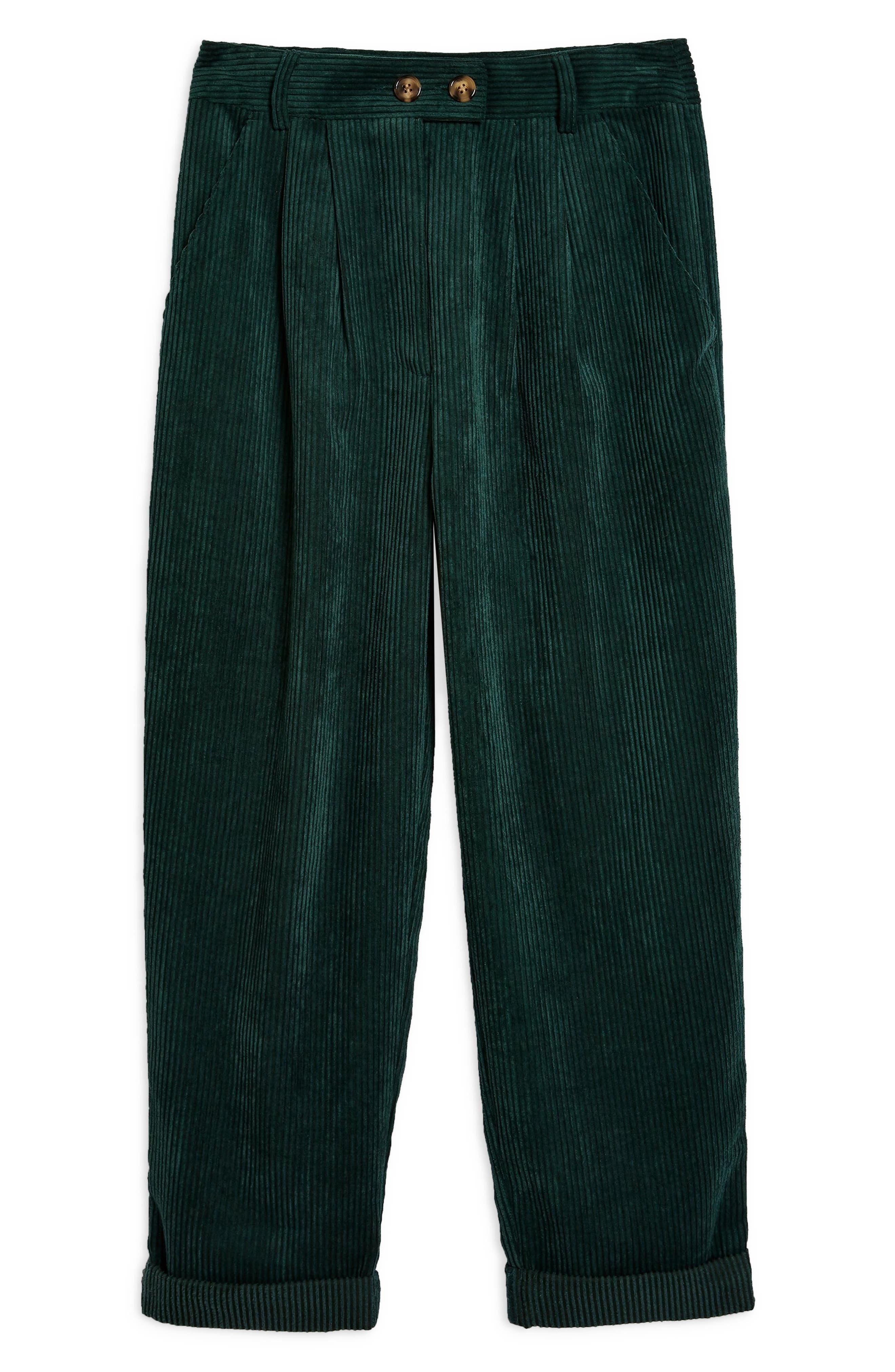 Corduroy Peg Trousers,                             Alternate thumbnail 3, color,                             301