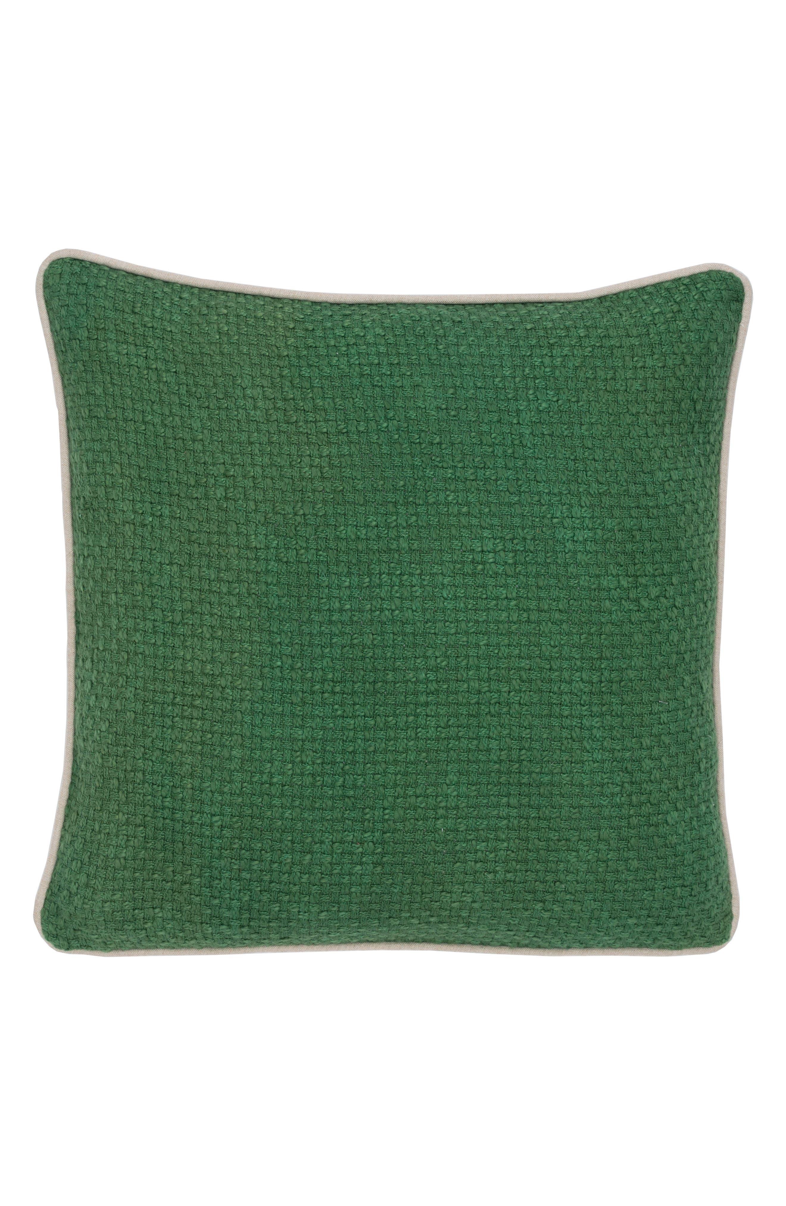 Ve Dekker Accent Pillow,                             Main thumbnail 1, color,                             GREEN