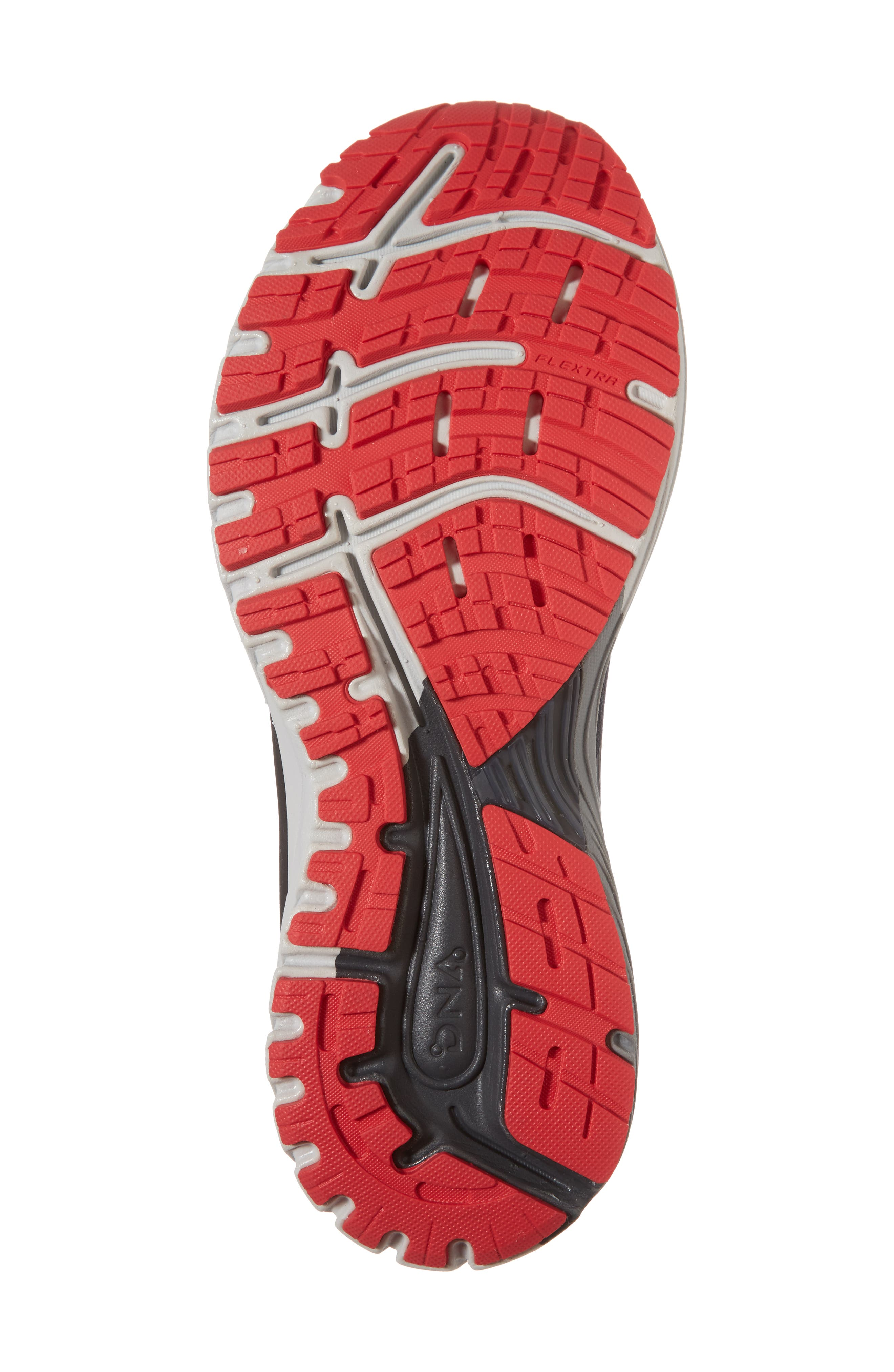 Adrenaline GTS 18 Running Shoe,                             Alternate thumbnail 6, color,                             BLACK/ GOLD/ RED
