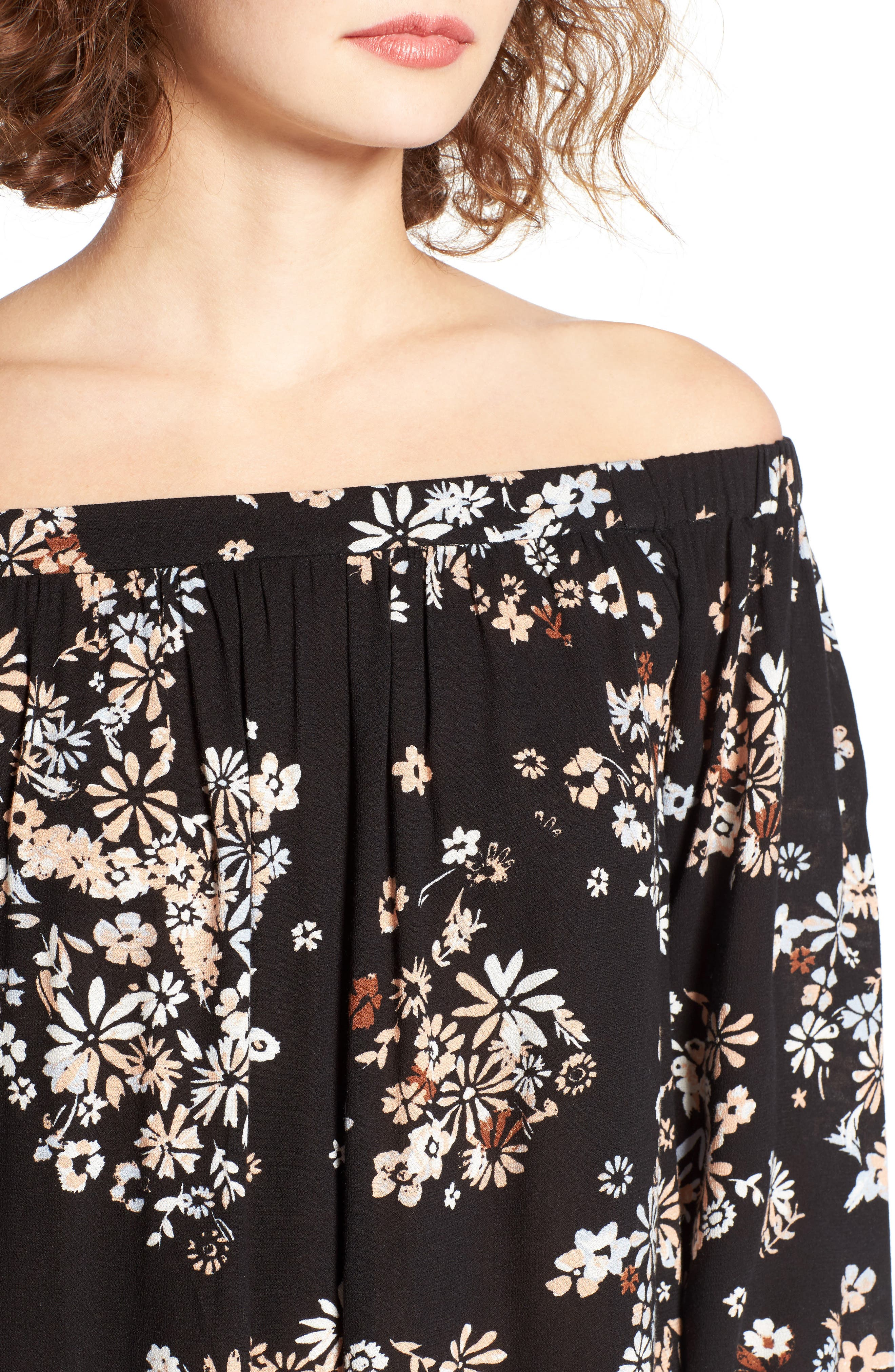 Off the Shoulder Tunic,                             Alternate thumbnail 34, color,