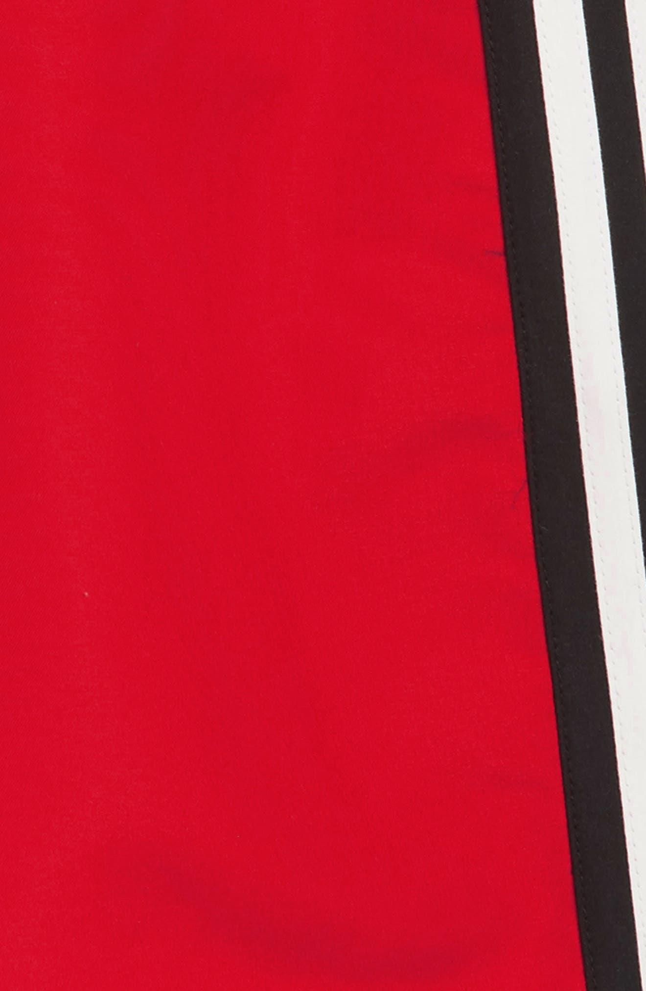 ADIDAS ORIGINALS,                             Iconic 3.0 Volley Swim Trunks,                             Alternate thumbnail 2, color,                             RED