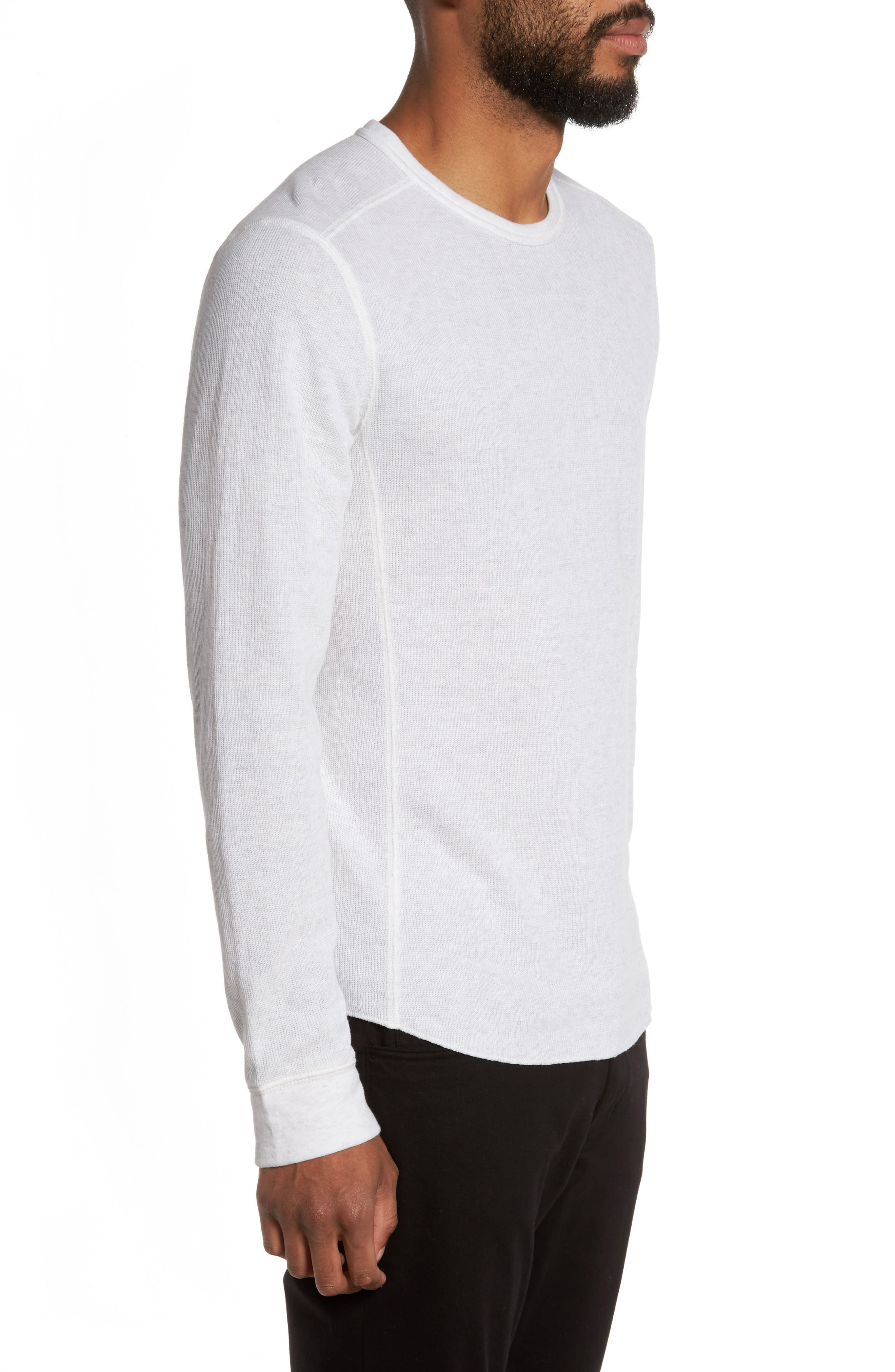 Double Knit Long Sleeve T-Shirt,                             Alternate thumbnail 13, color,