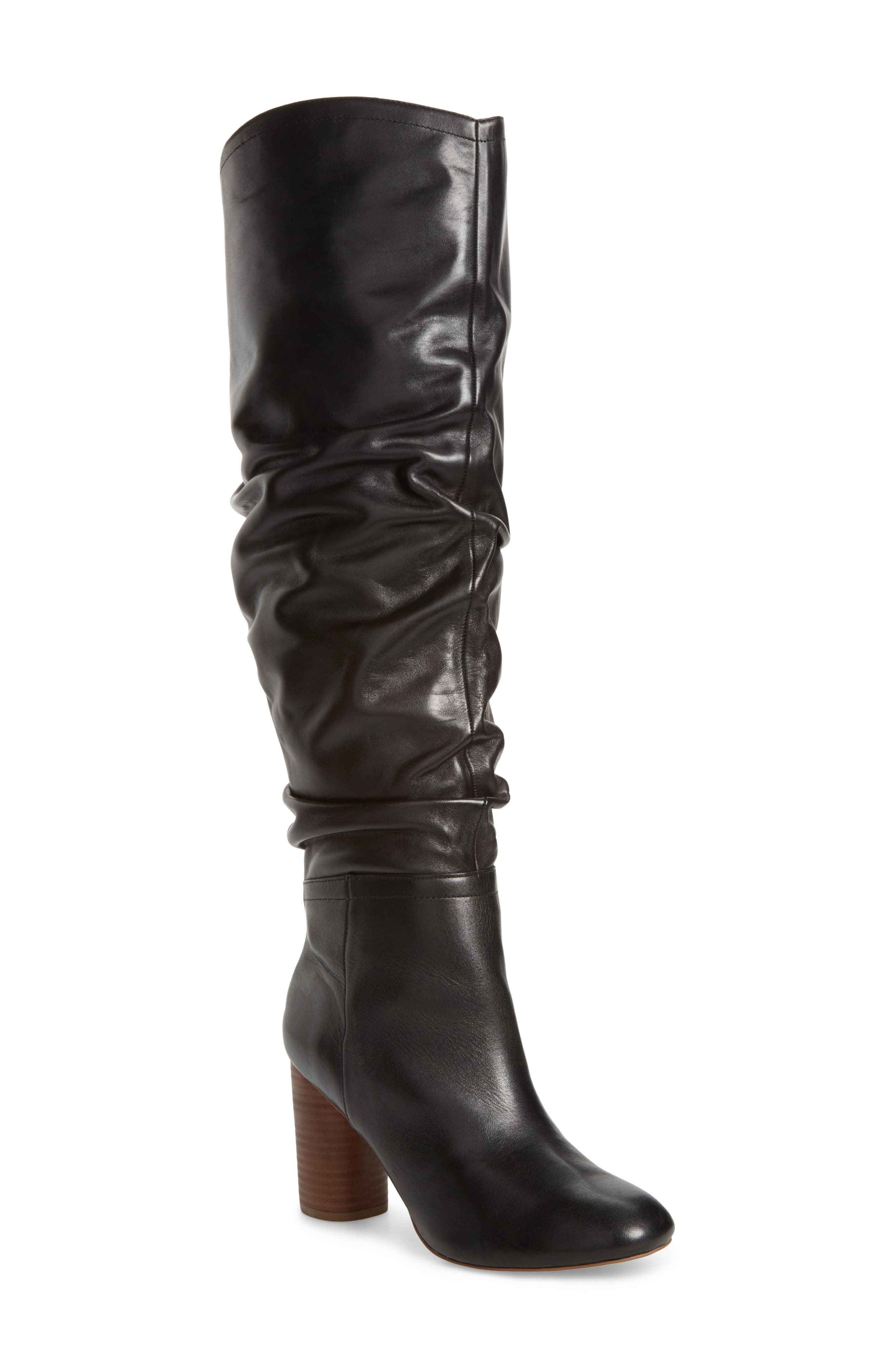 Bali Slouchy Over the Knee Boot,                             Main thumbnail 1, color,                             001