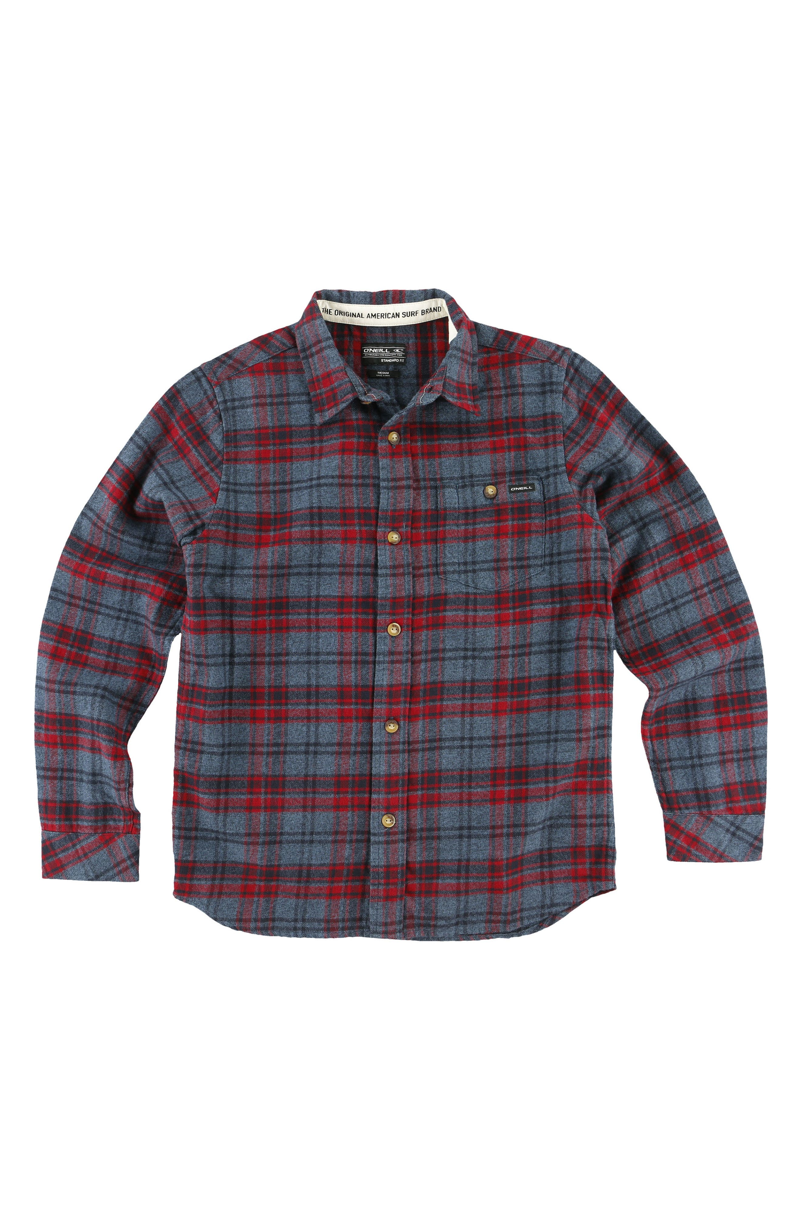 Redmond Flannel Shirt,                             Alternate thumbnail 3, color,