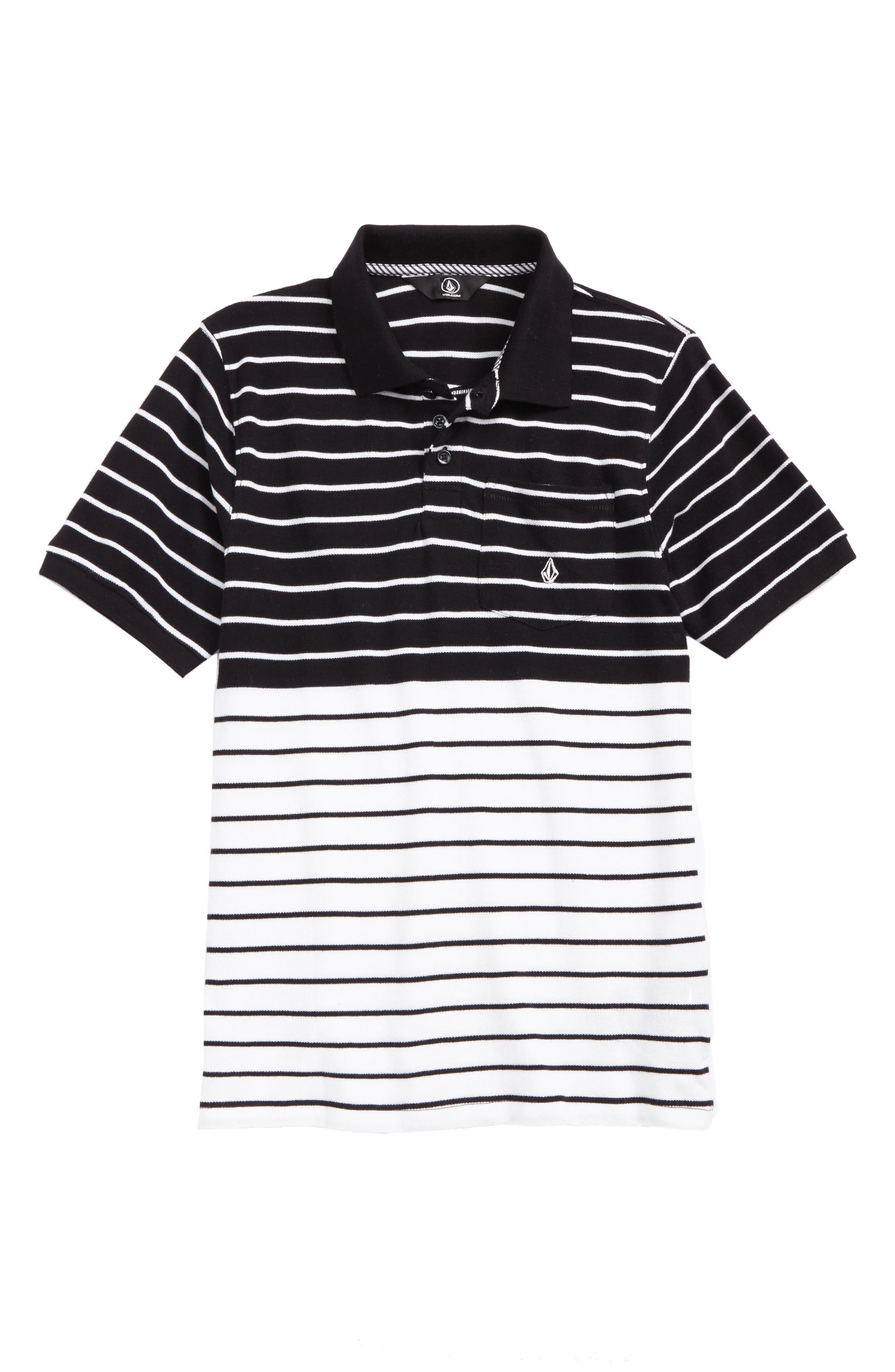 Wowzer Stripe Polo,                             Main thumbnail 1, color,                             001