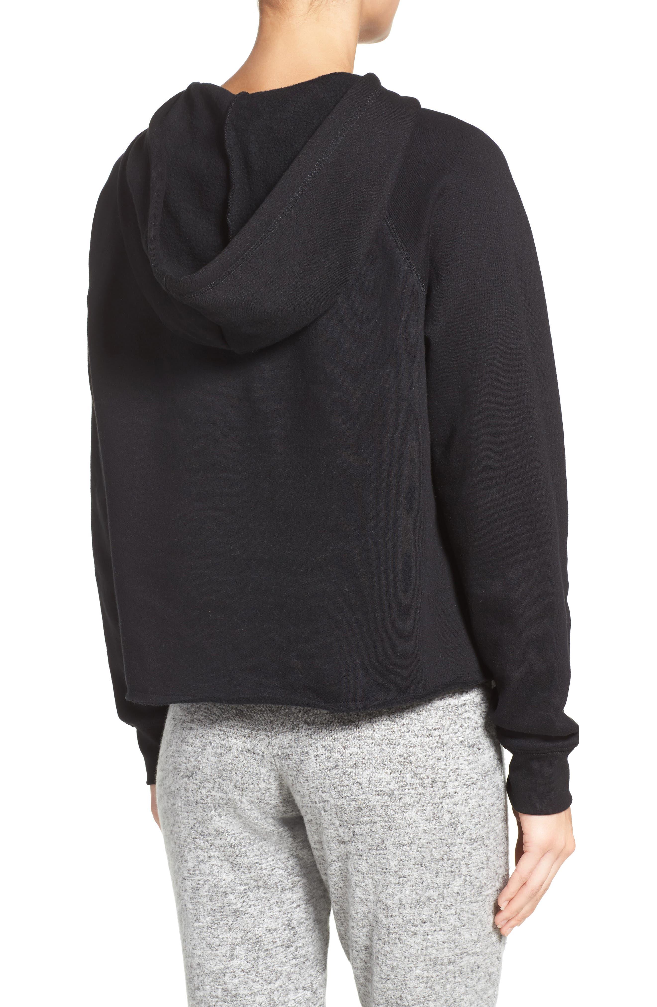 Brunette Lounge Hoodie,                             Alternate thumbnail 2, color,                             001