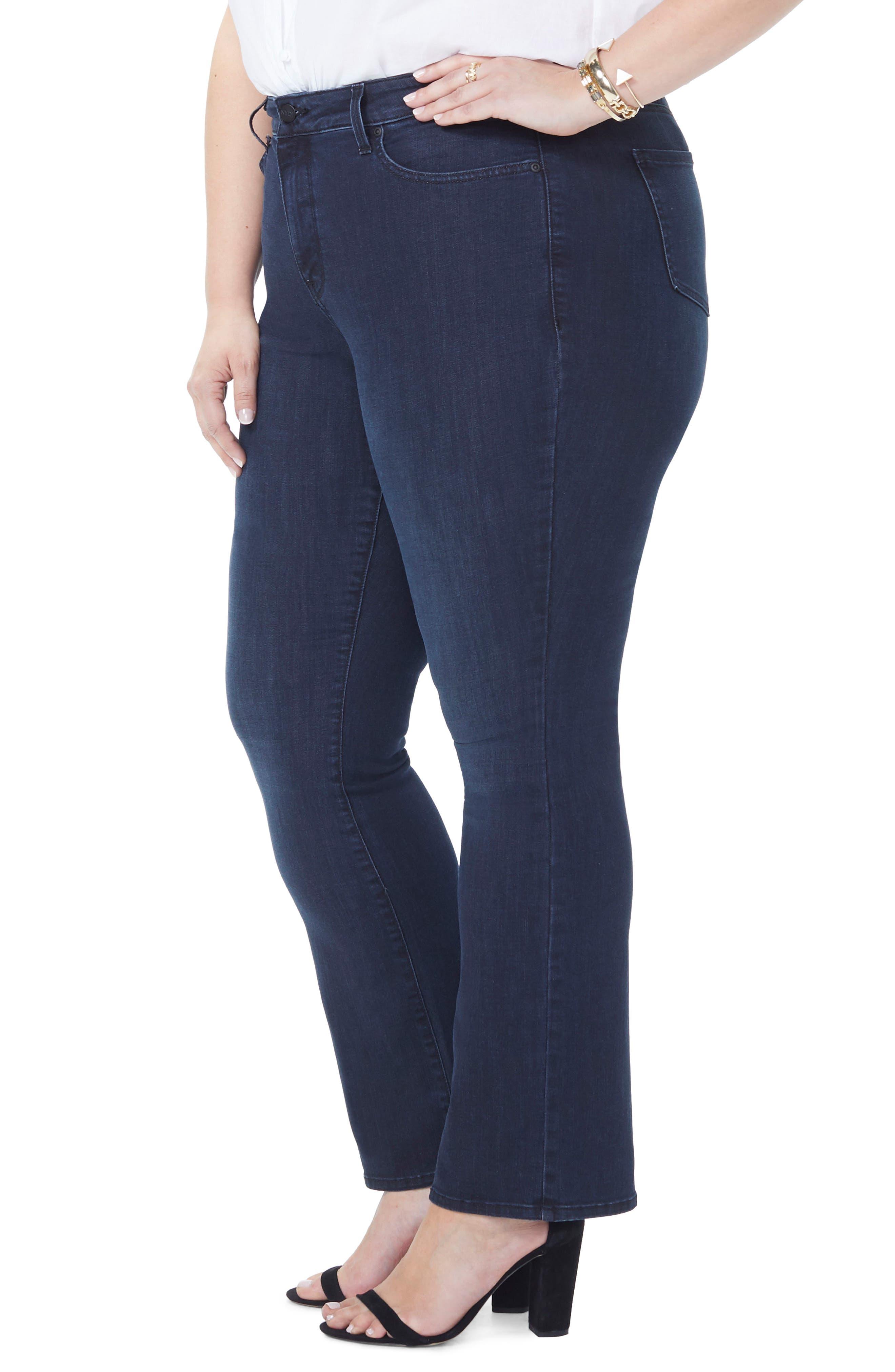 Barbara Stretch Bootcut Jeans,                             Alternate thumbnail 3, color,                             FALLEN