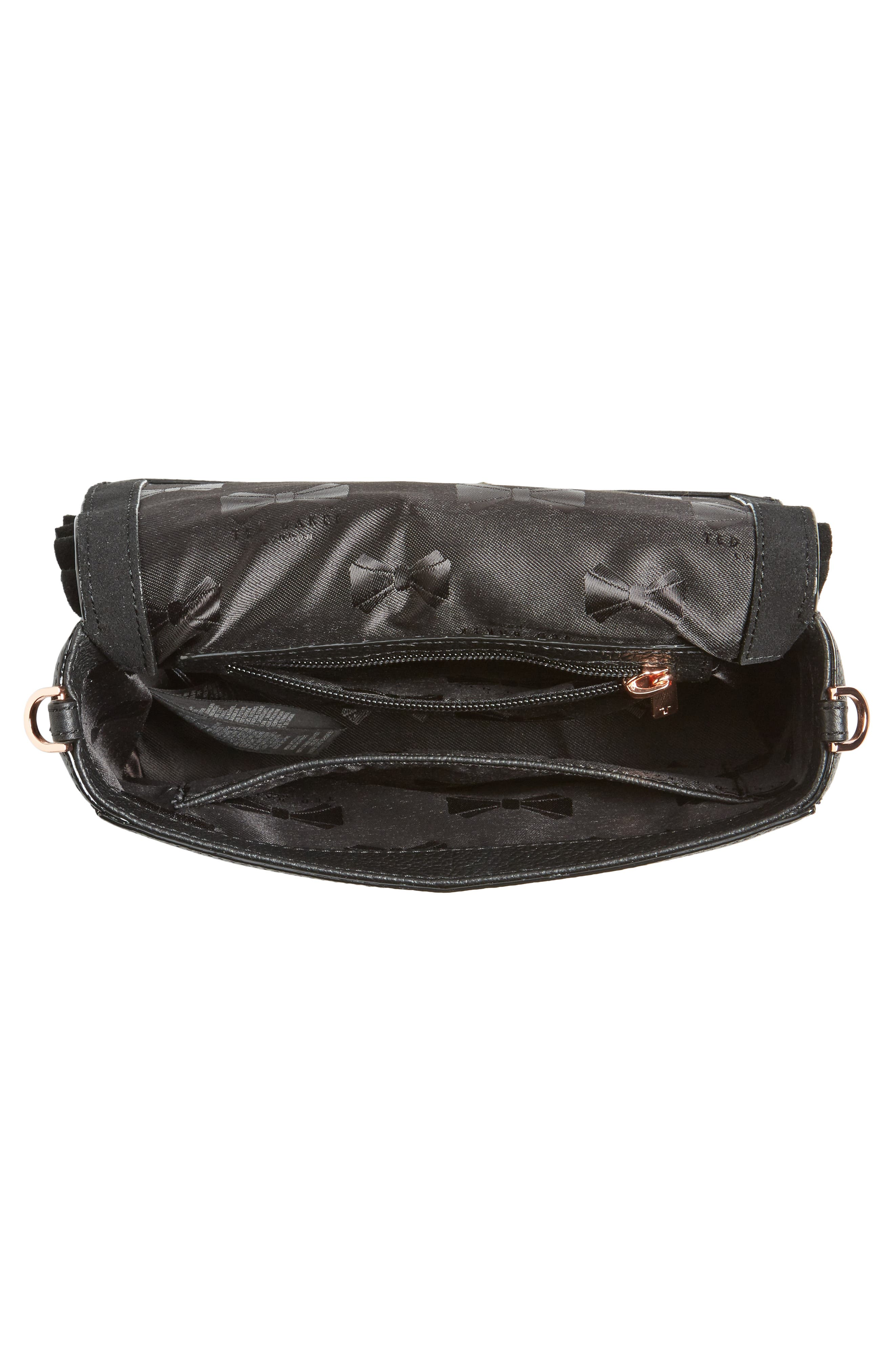 Nerinee Bow Buckle Clutch,                             Alternate thumbnail 10, color,