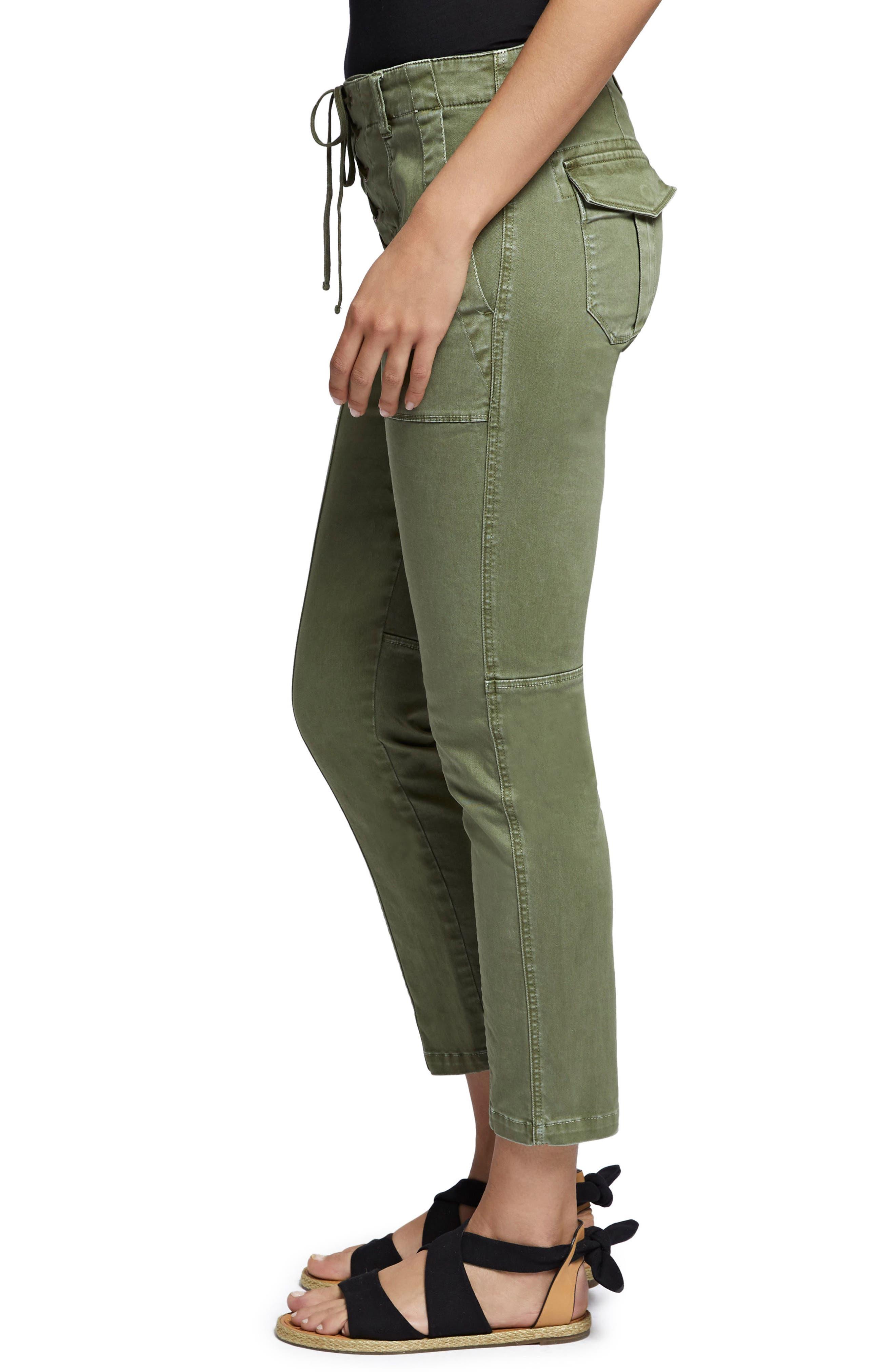 Peace Lace-Up Pants,                             Alternate thumbnail 3, color,