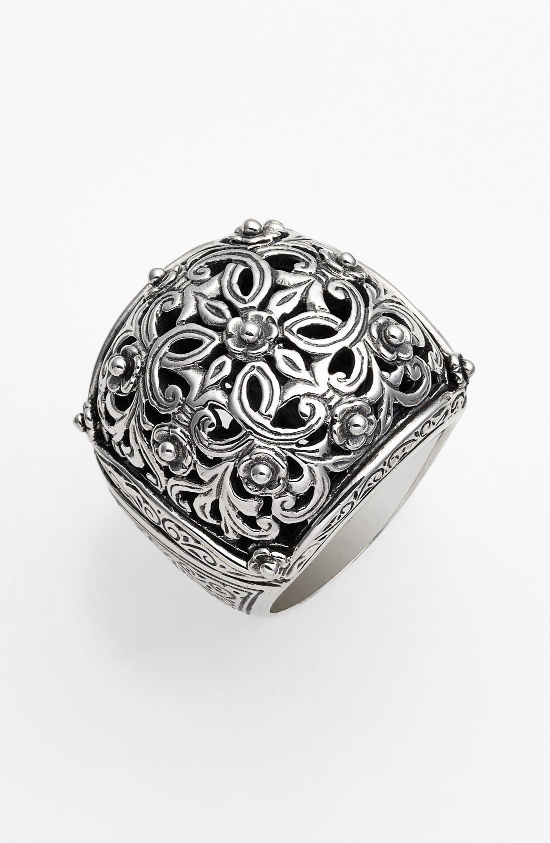 'Classics' Filigree Dome Ring,                             Main thumbnail 1, color,
