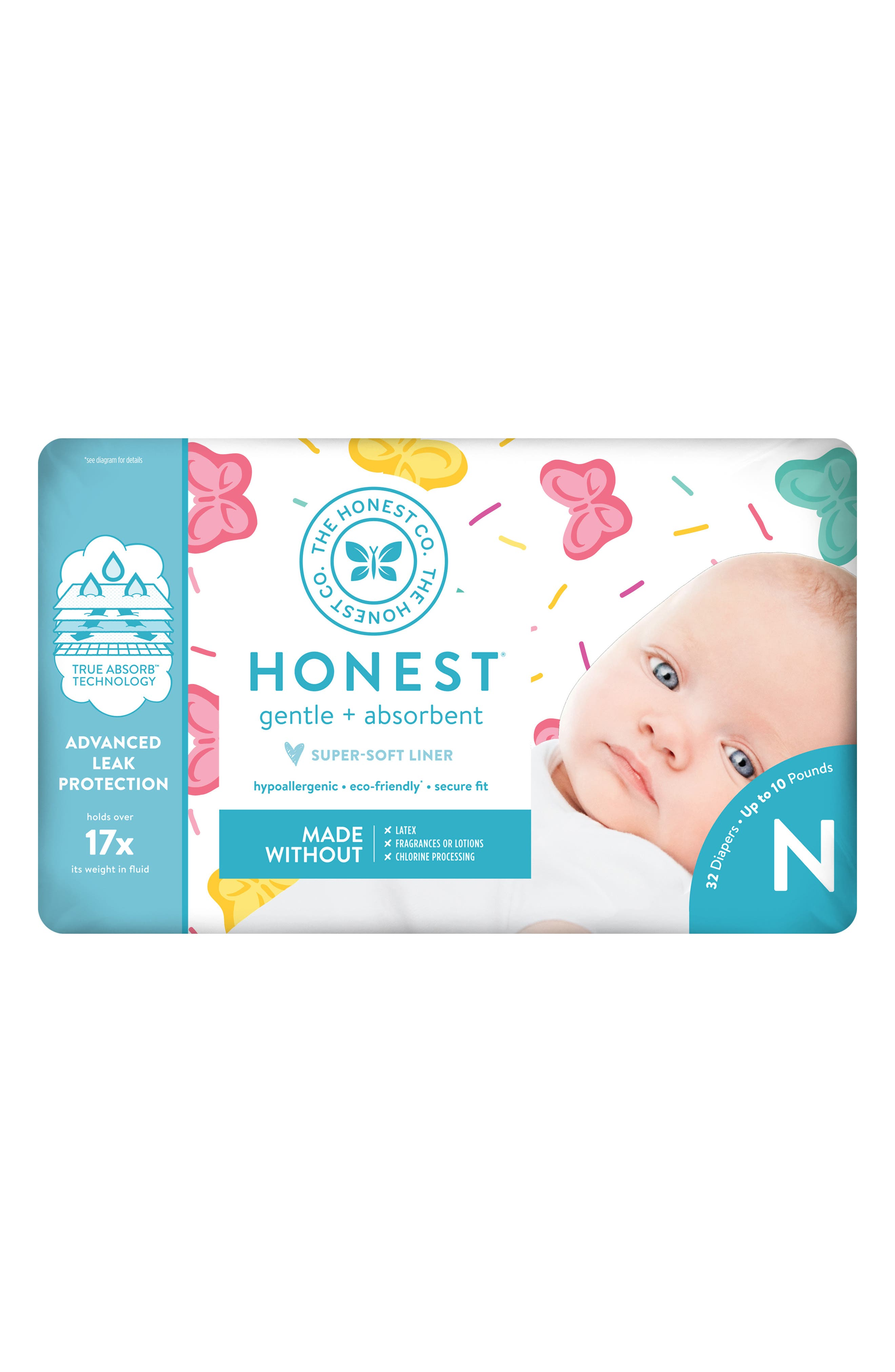 x Sugarfina Sweet Thing Diapers,                             Alternate thumbnail 3, color,                             SWEET THING