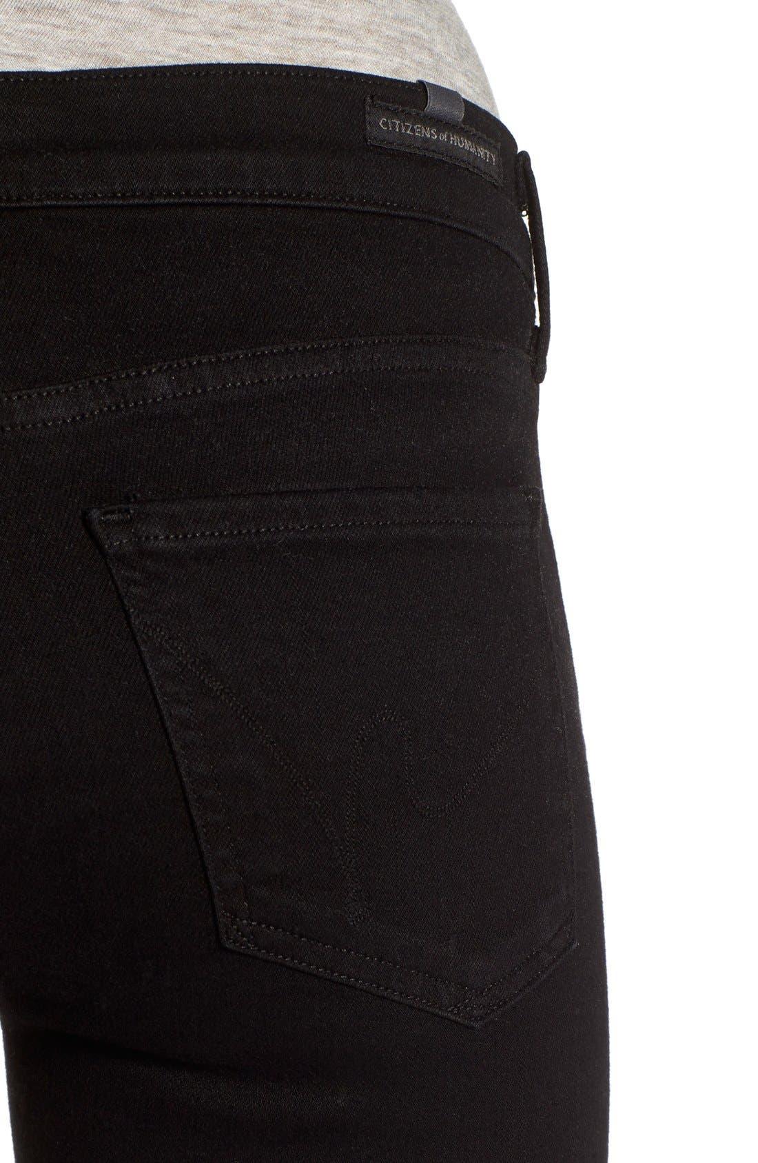'Ava' Straight Leg Jeans,                             Alternate thumbnail 3, color,                             003