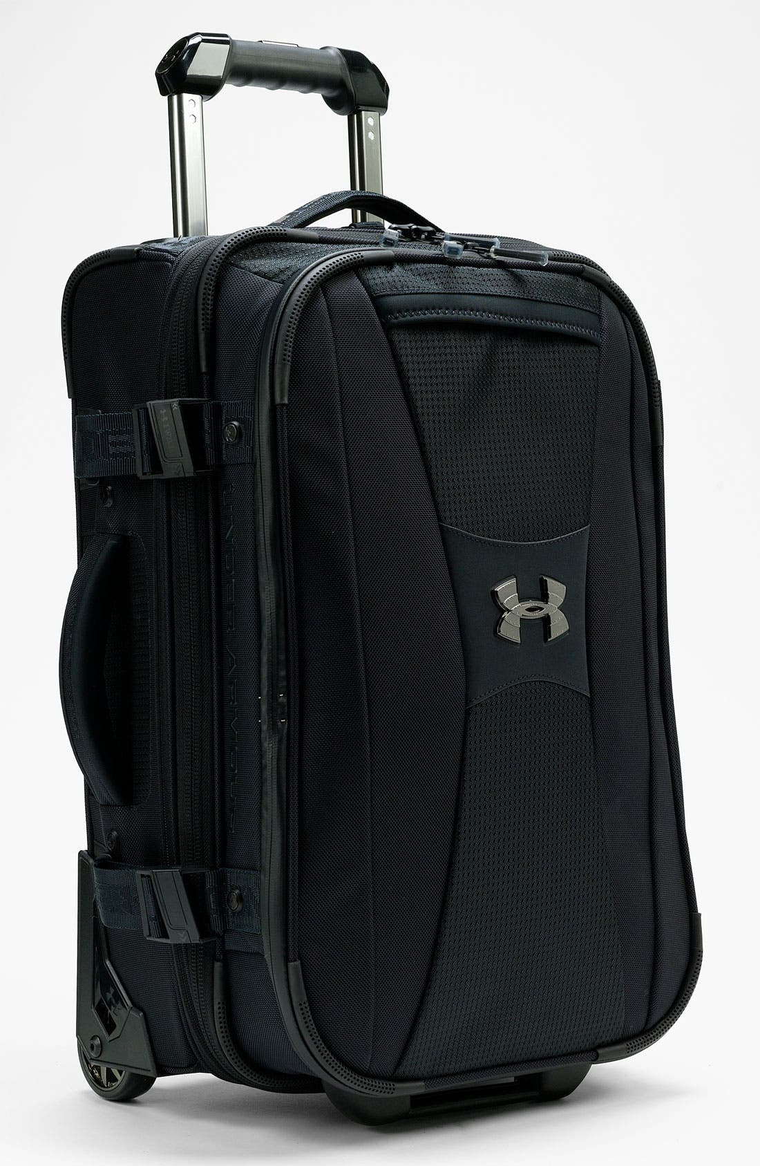 'Elite' Rolling Carry-On, Main, color, 001