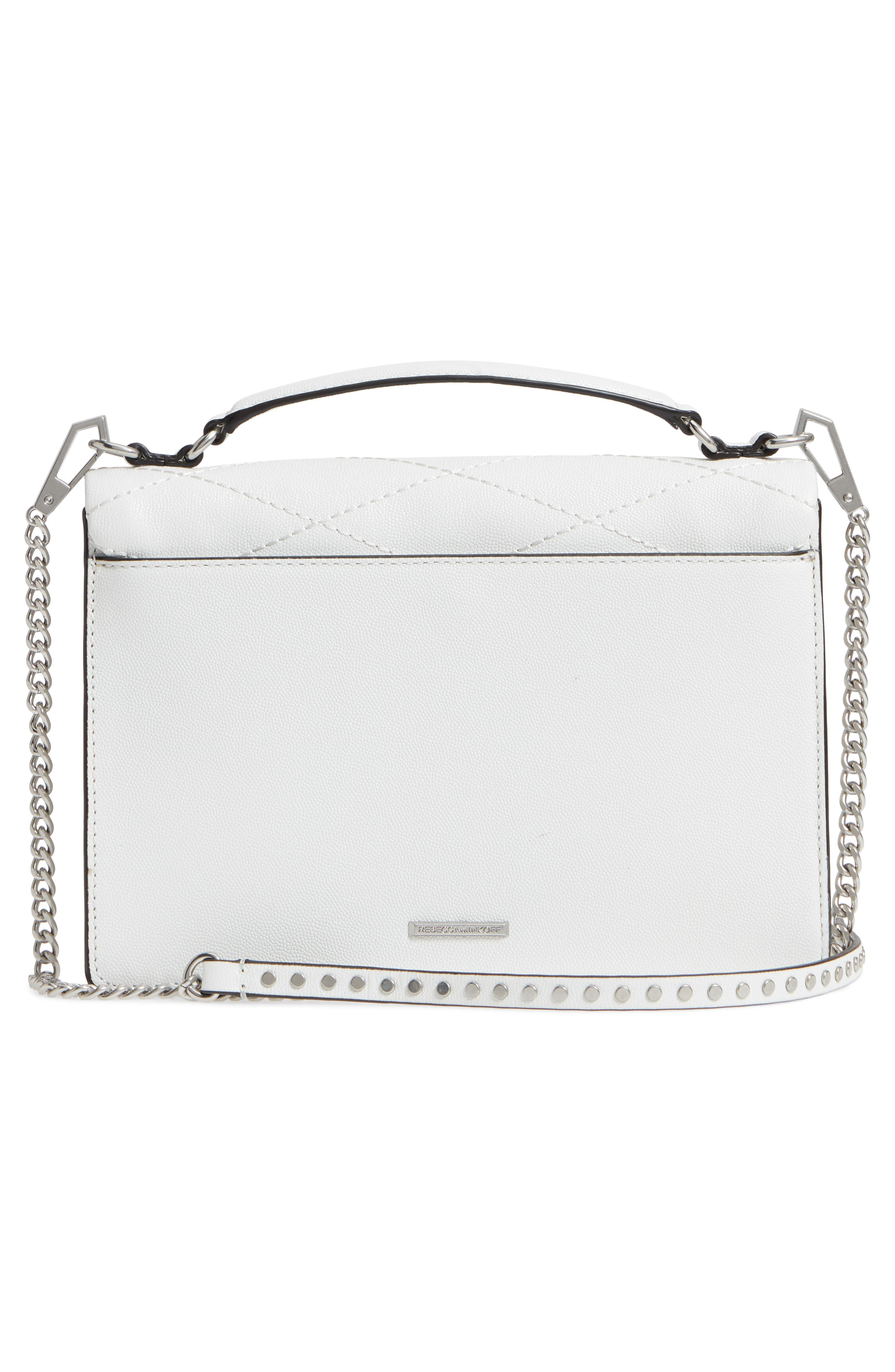 Medium Je T'aime Convertible Leather Crossbody Bag,                             Alternate thumbnail 23, color,
