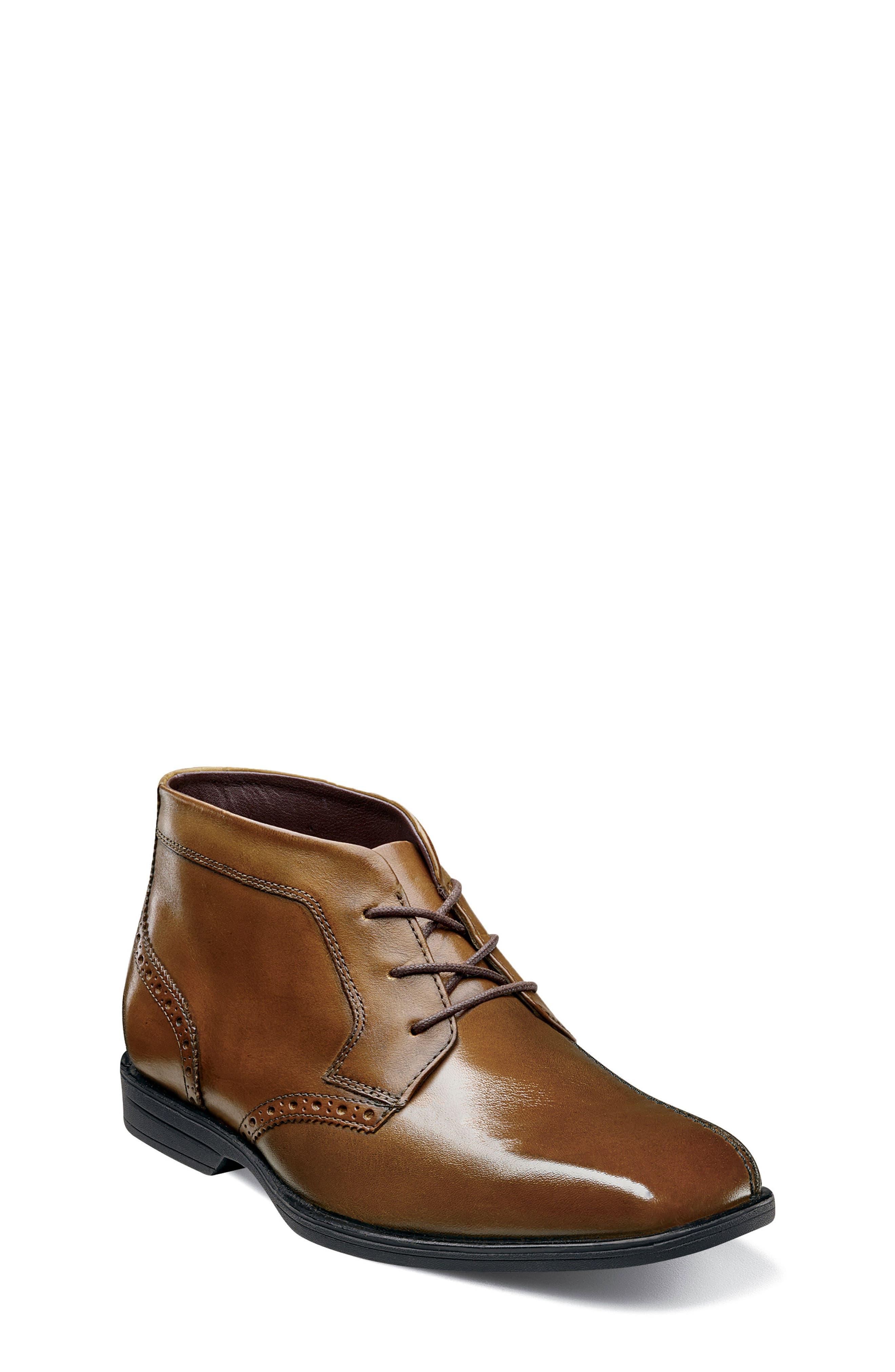 Boys Florsheim Reveal Chukka Boot Size 4 M  Brown